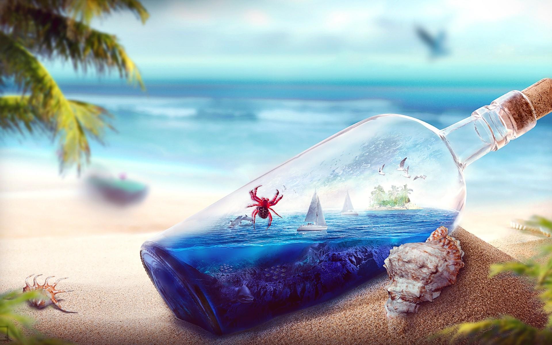 Открытки с днем рождения море солнце