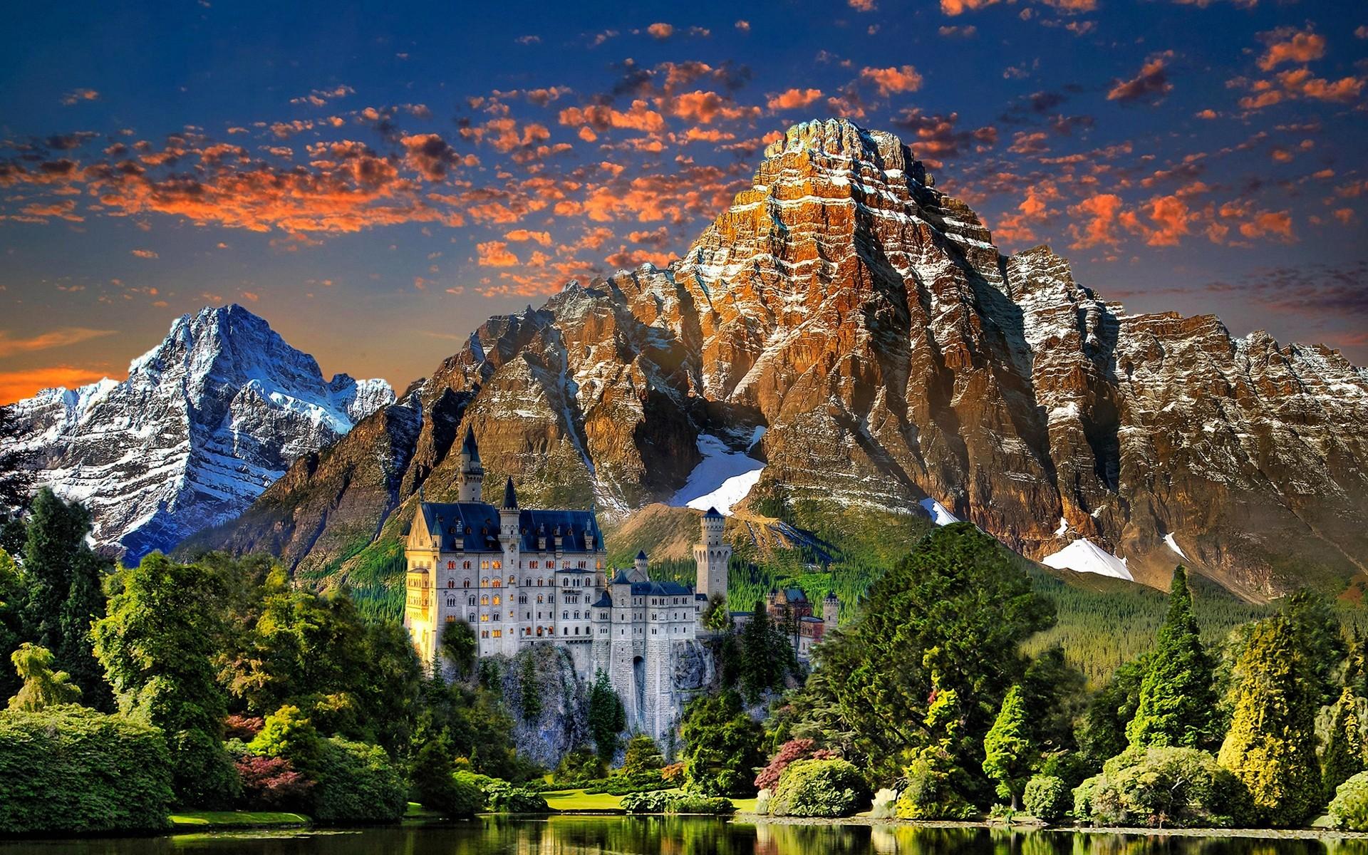 Самые красивые места Германии Фото