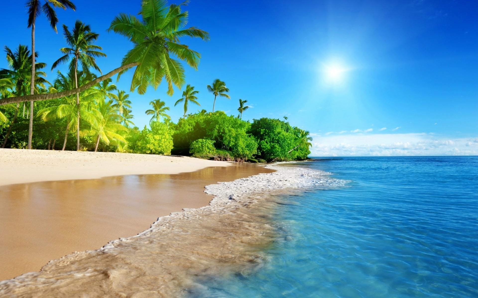 красивые пляжи обои на рабочий стол № 1104573 без смс