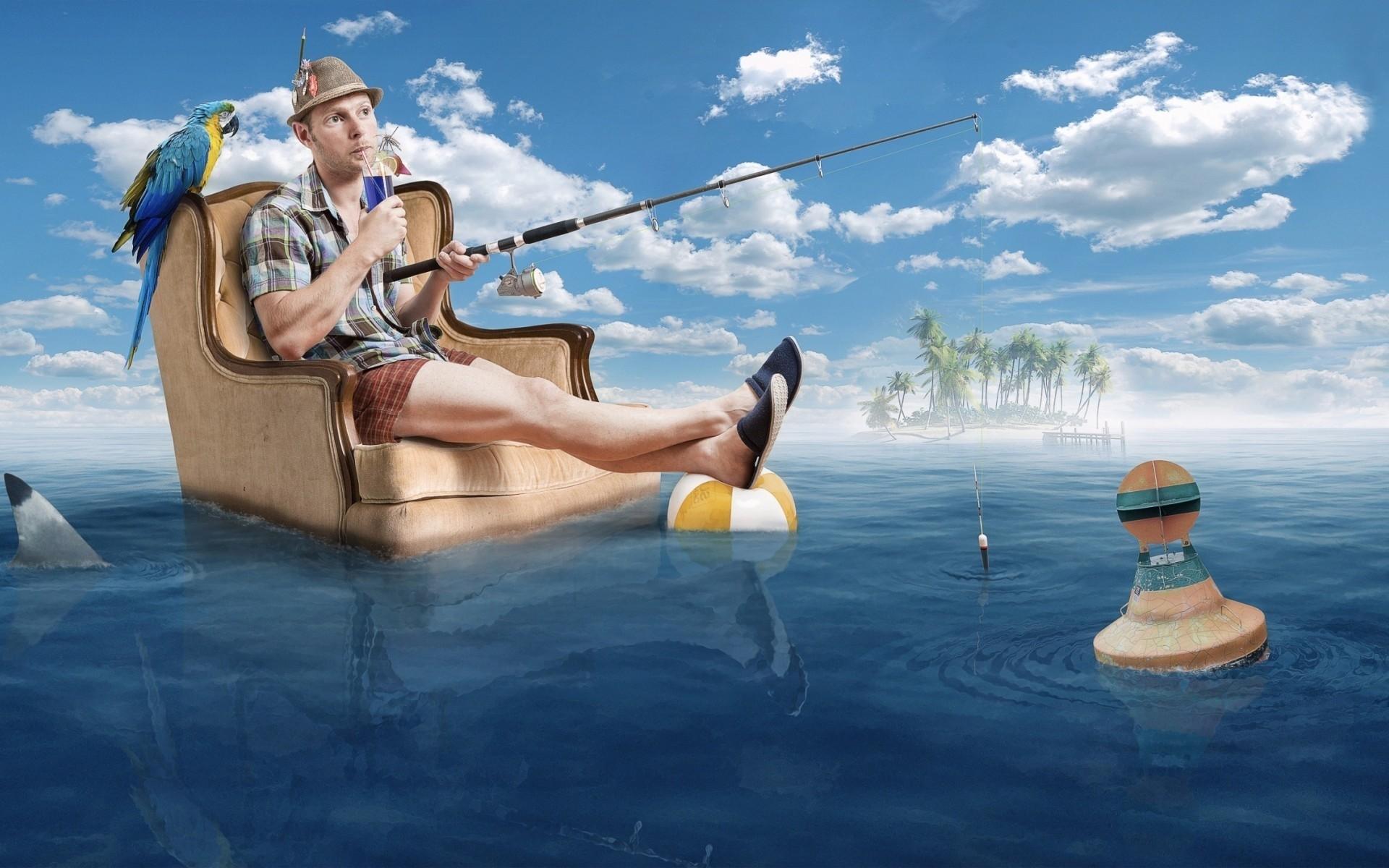 Смешные картинки про полет в отпуск