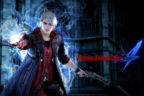 Devil May Cry 4 плакат