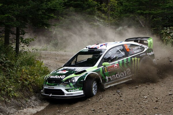 rally monster Wrc british ford focus