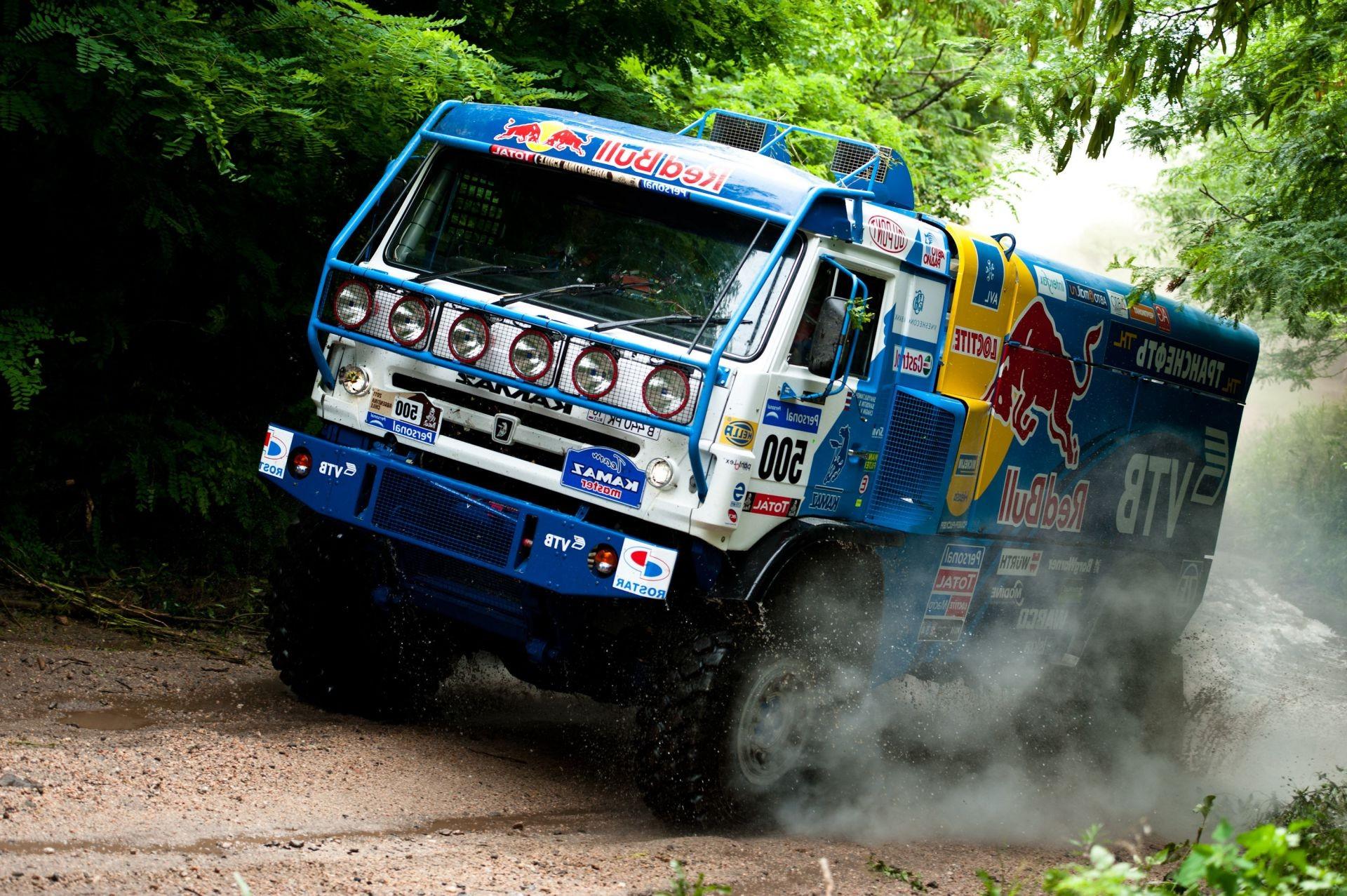Обои грузовик, гонка. Автомобили foto 14