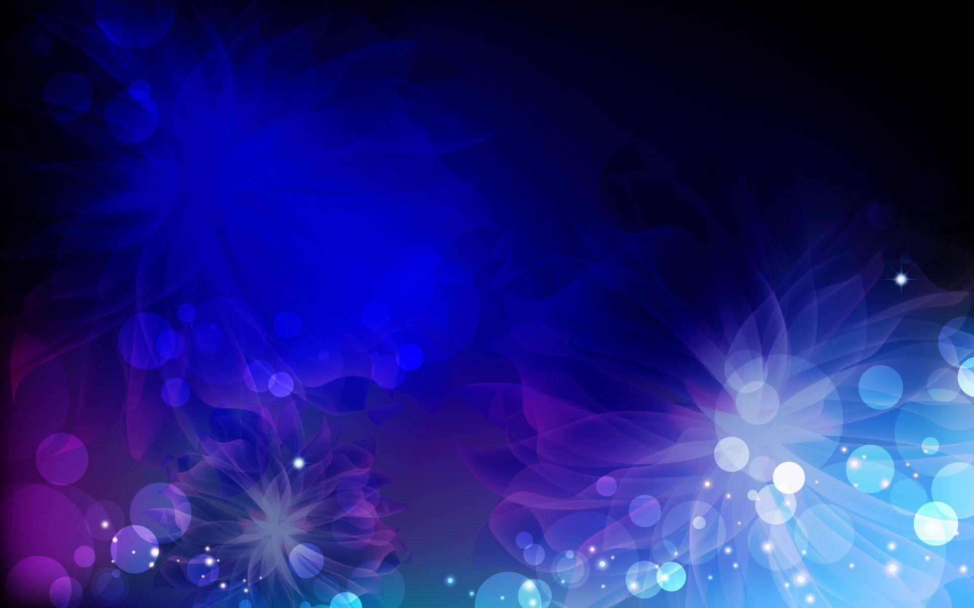 Белый синий голубой узор черный цветы