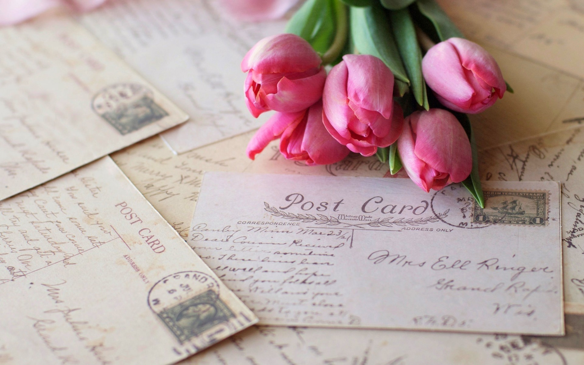 Что обычно пишут на открытке с цветами
