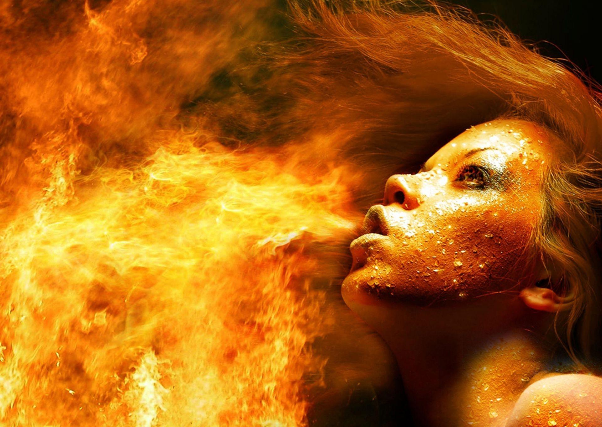 стихия огня фотосессия некоторое время чуть