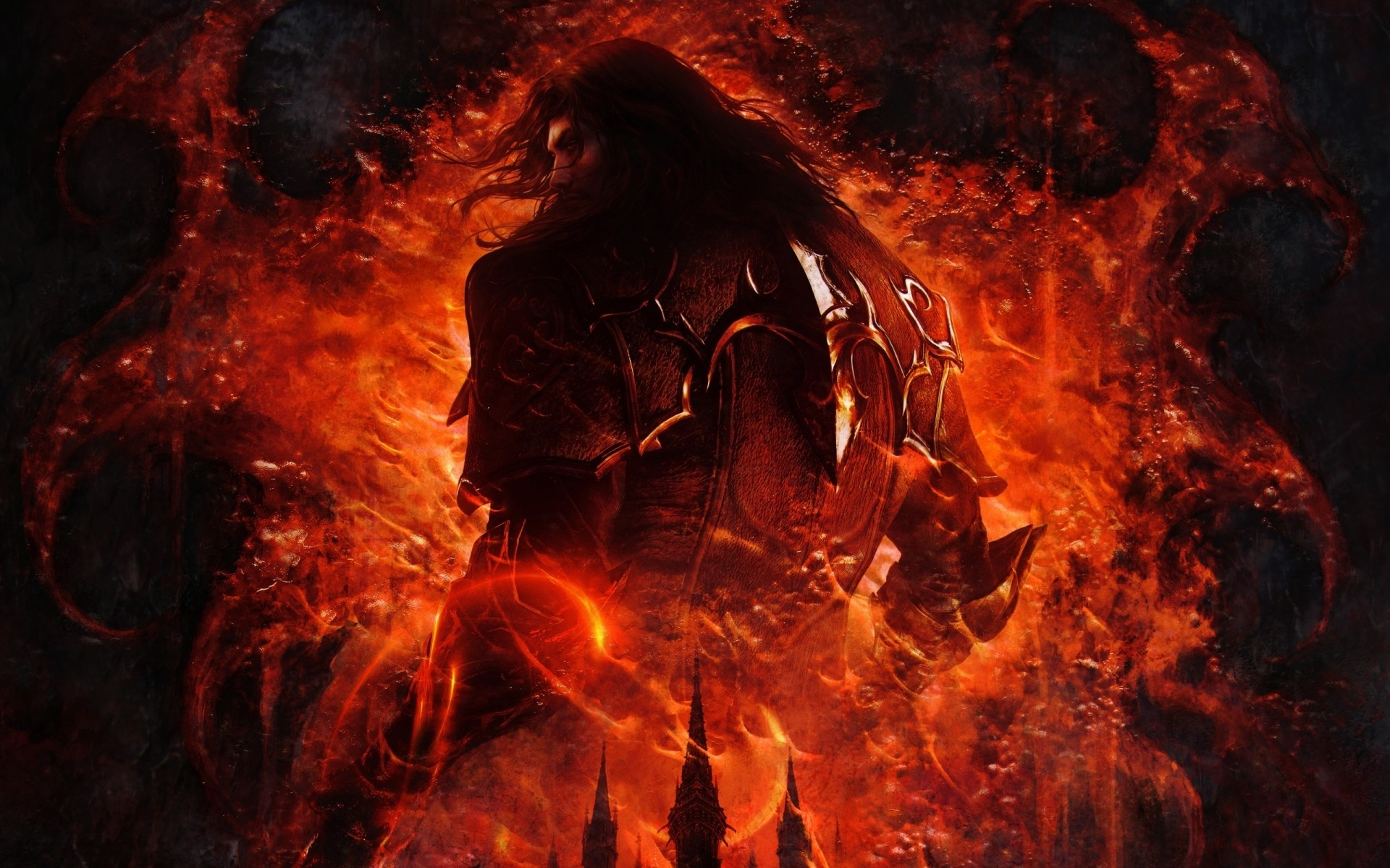 Castlevania Lords Of Тень 2 игры