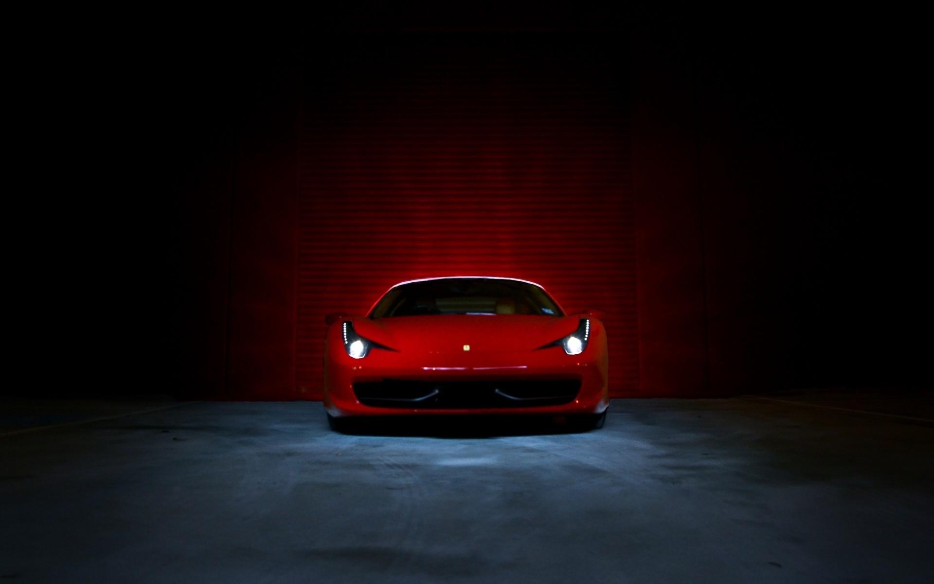Обои ferrari 458, Red. Автомобили foto 8