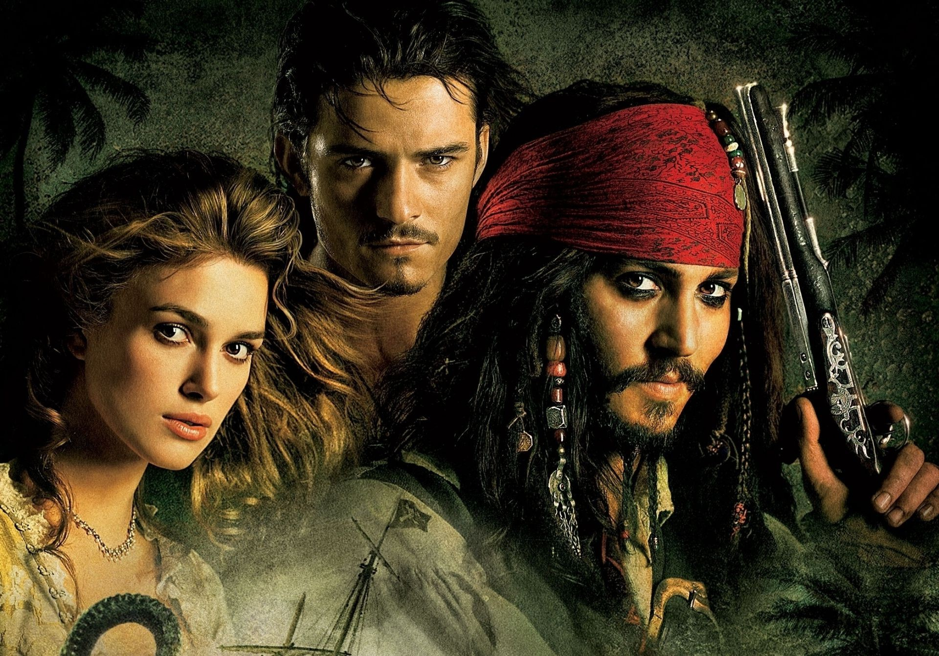 the curse of the black pearl The pirates of the caribbean