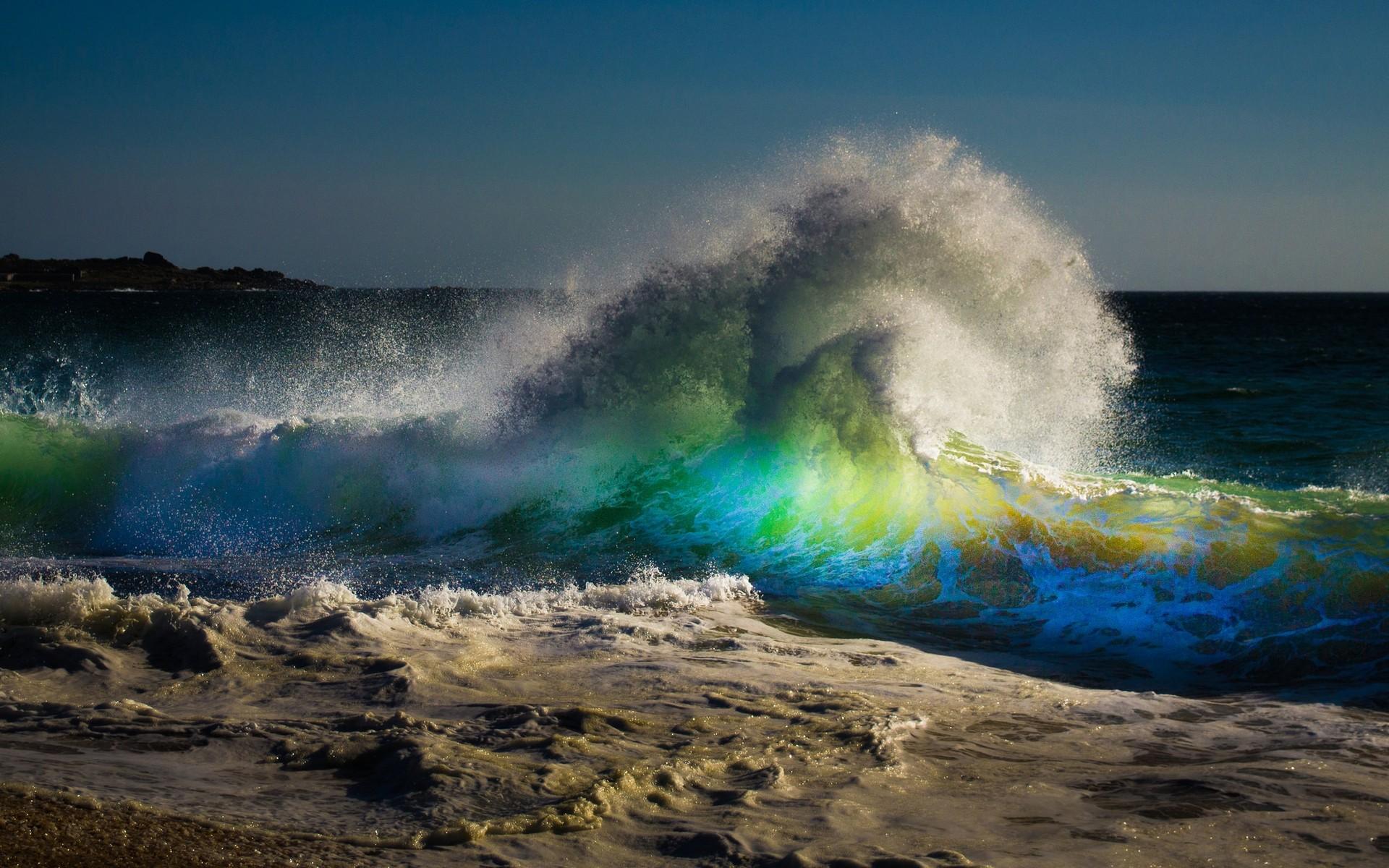 фото с волной морской полезных ископаемых это