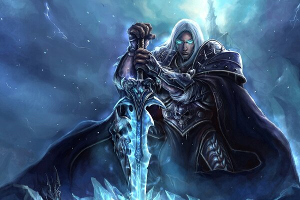 World Of Warcraft Lich King искусства