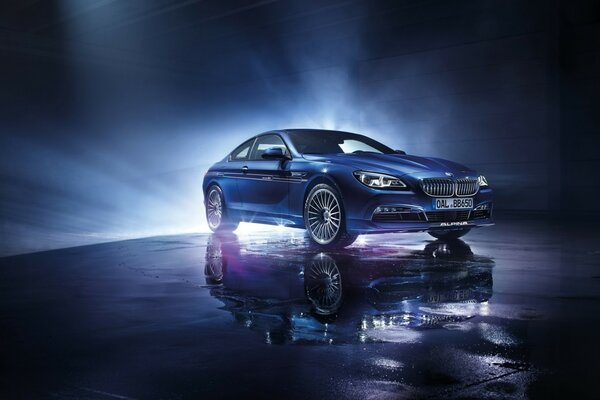 BMW Alpina B6 Biturbo купе лимузин