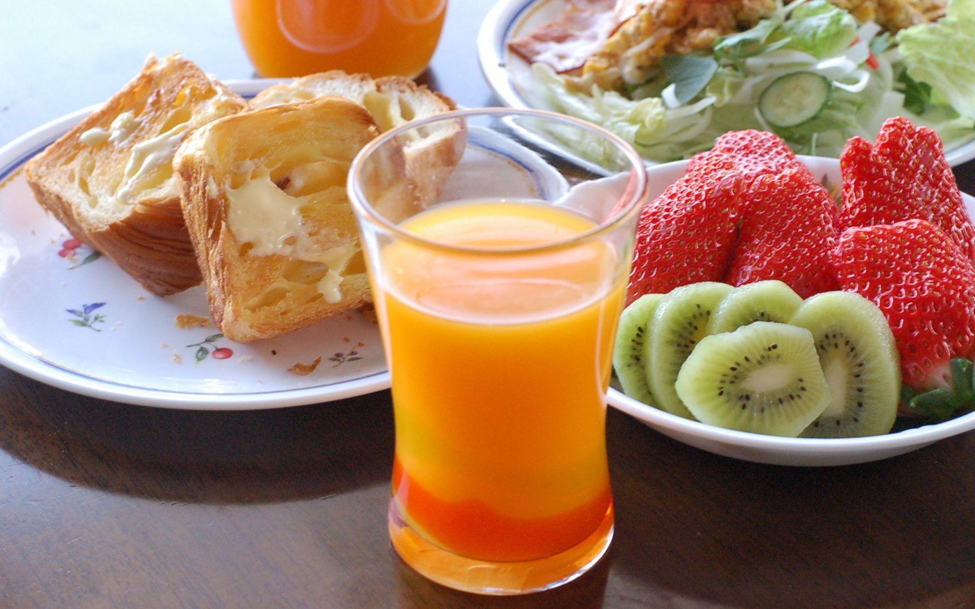 Открытка фрукты с добрым утром