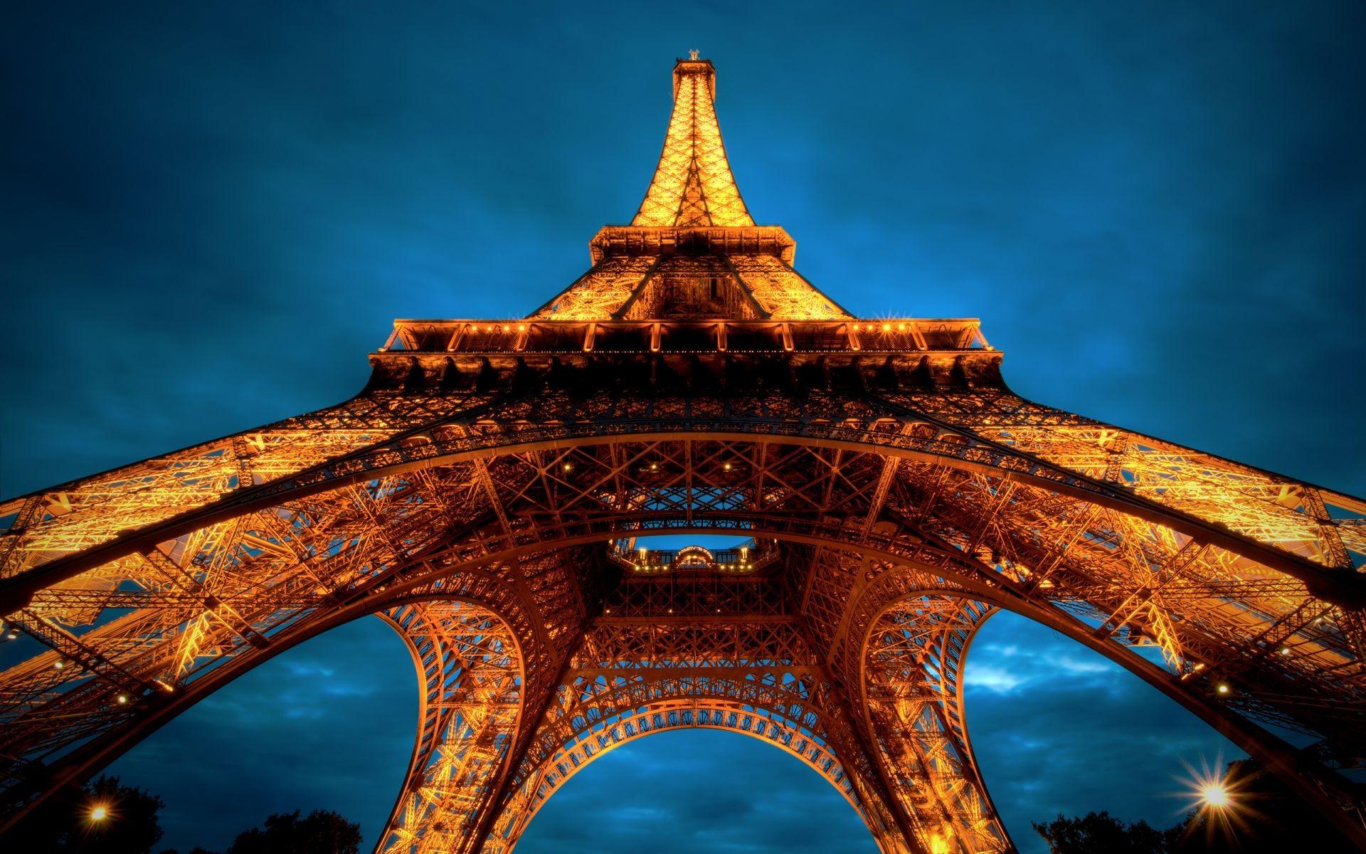 ночной Париж бесплатно