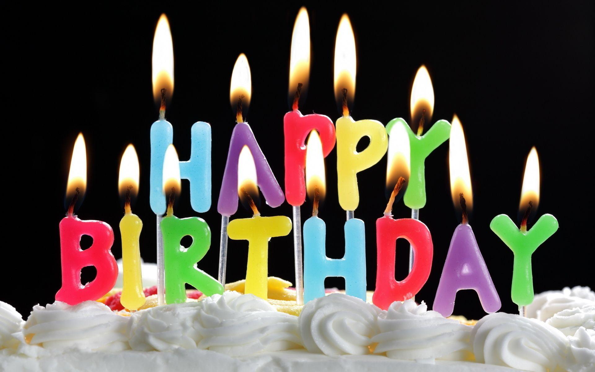 Летием, открытки с днем рождения торт свечи