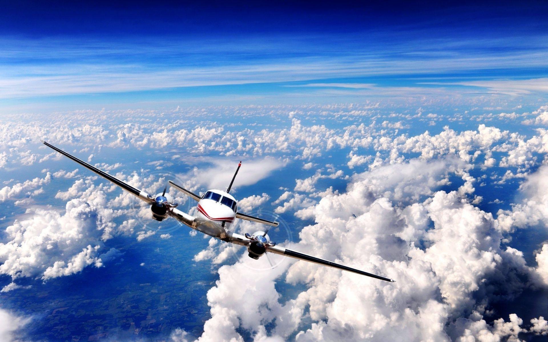 Обои бомбардировщик, Облака, Самолёт. Авиация foto 17