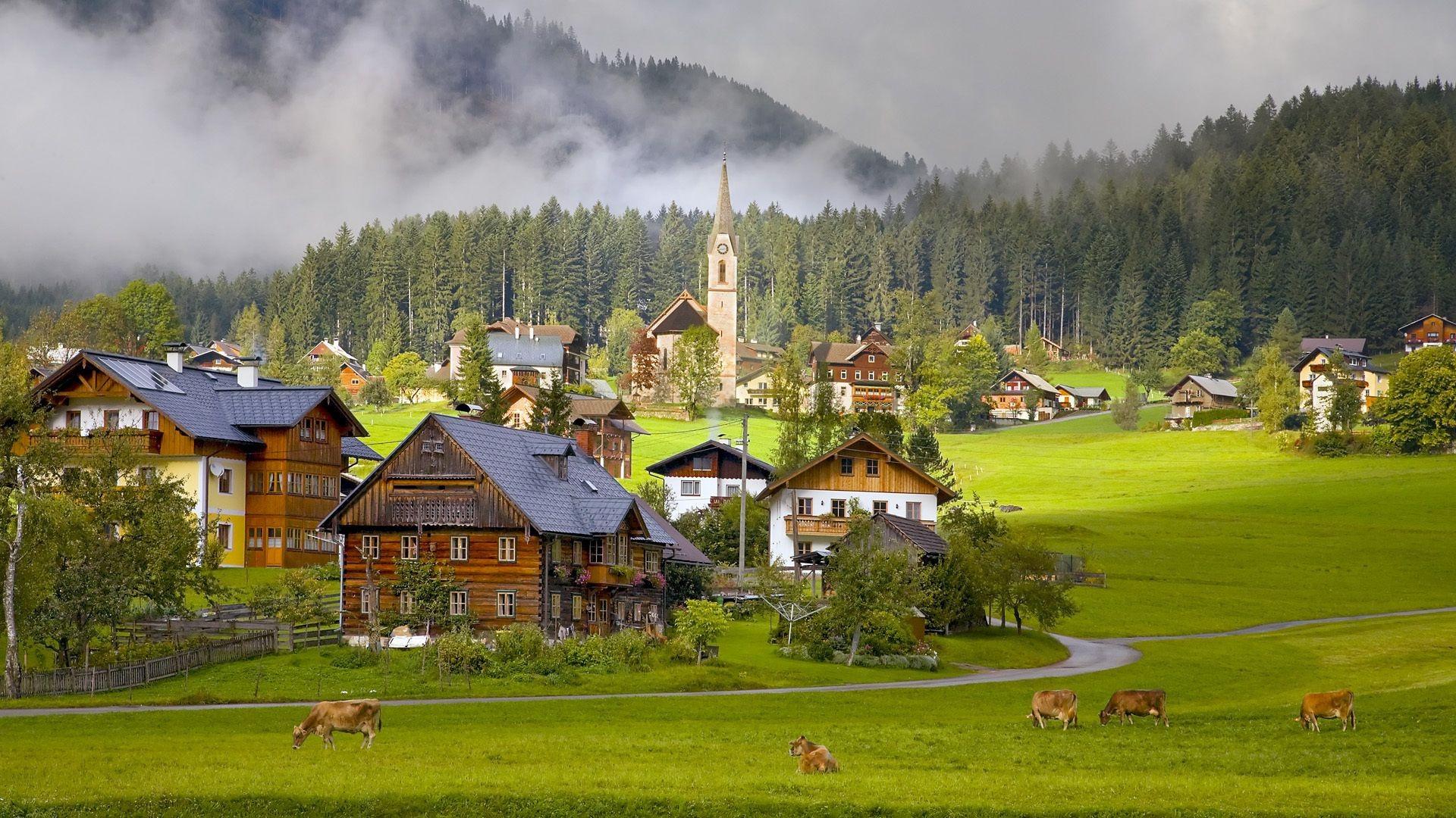 Австрия фото природа