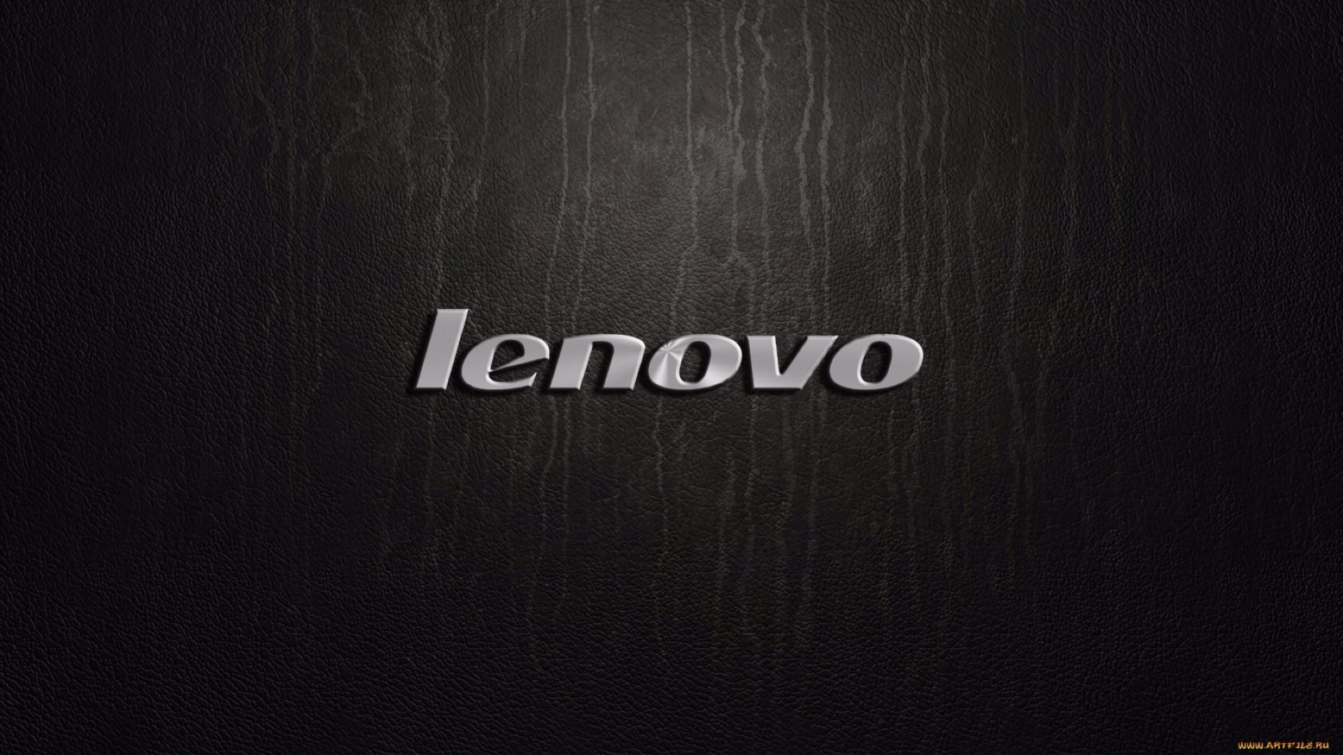 Логотип производителя числовой техники Lenovo