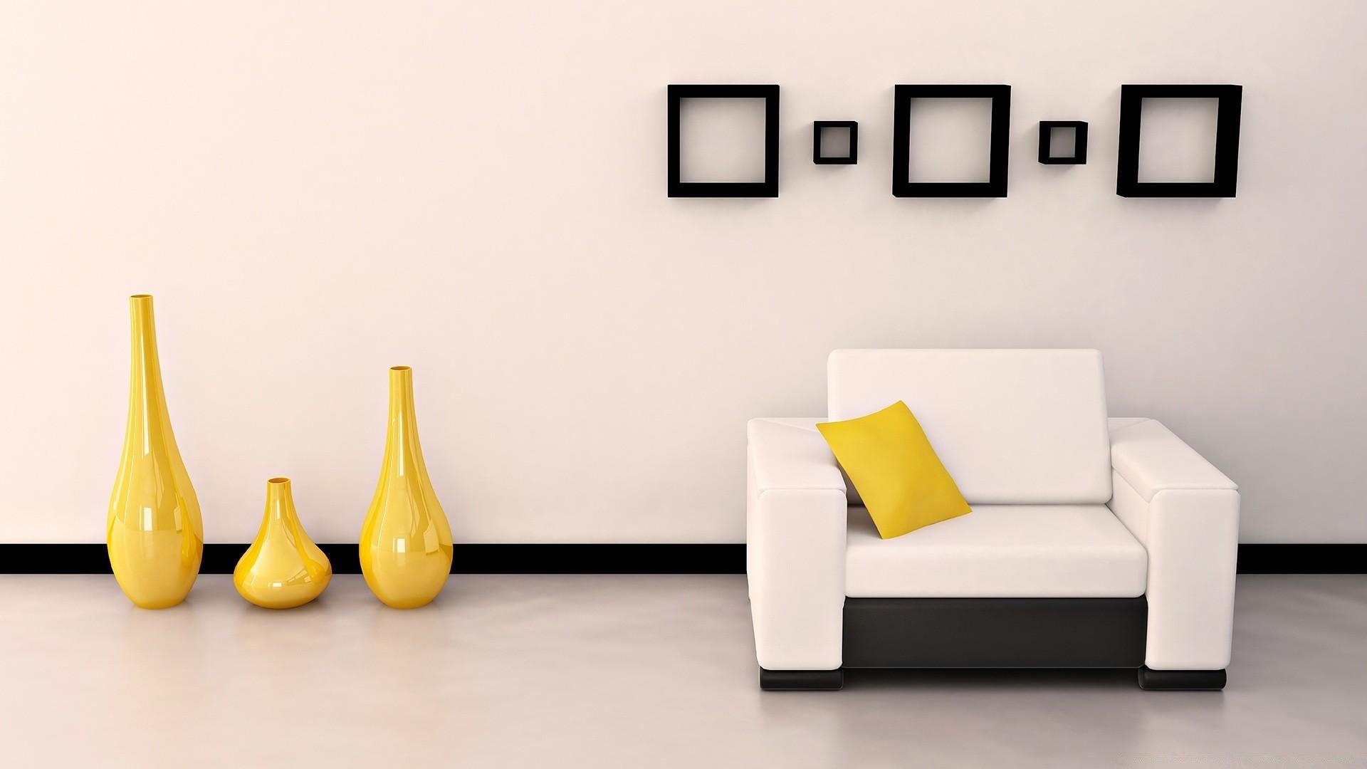 Комната в желто-белом стиле скачать