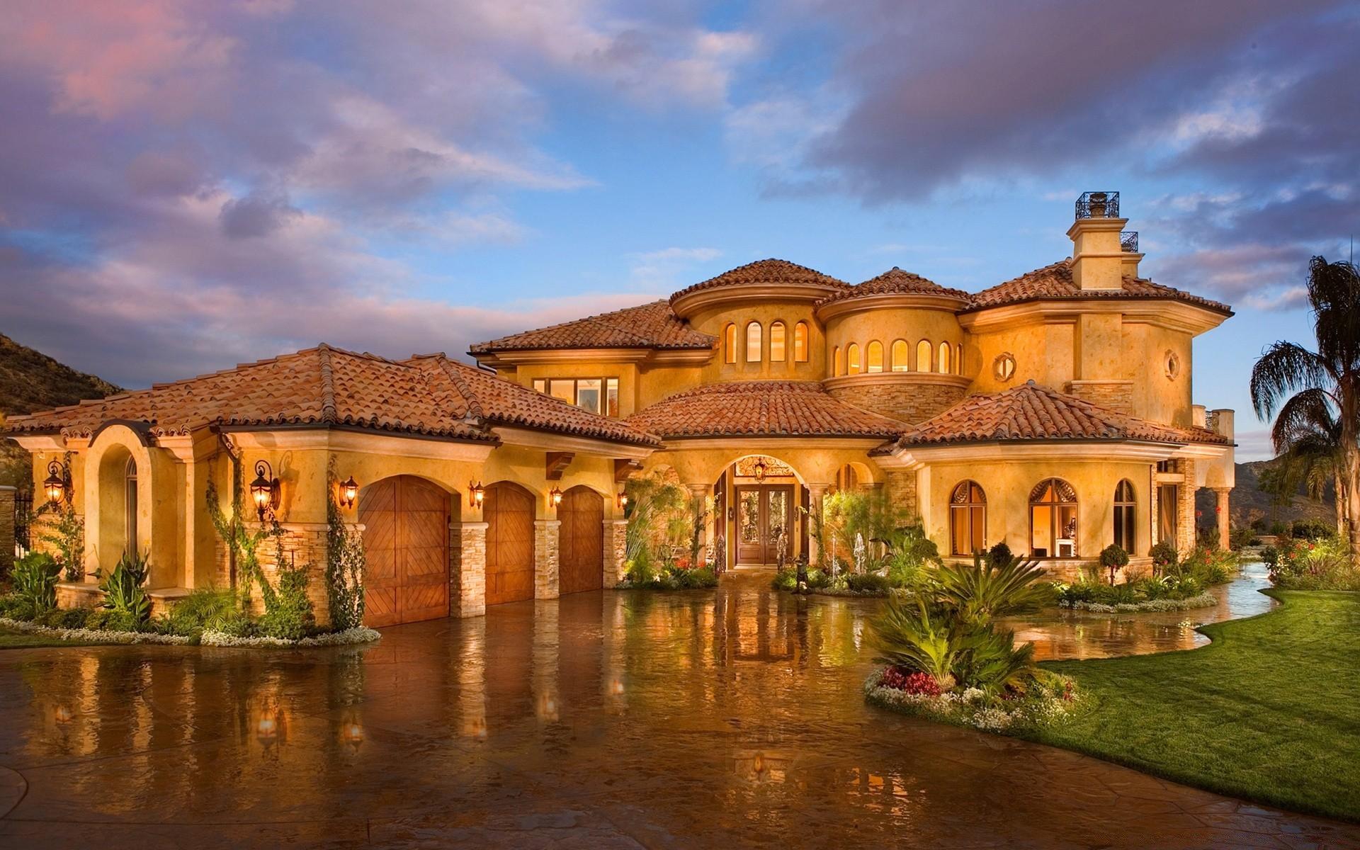 Роскошные дома фото