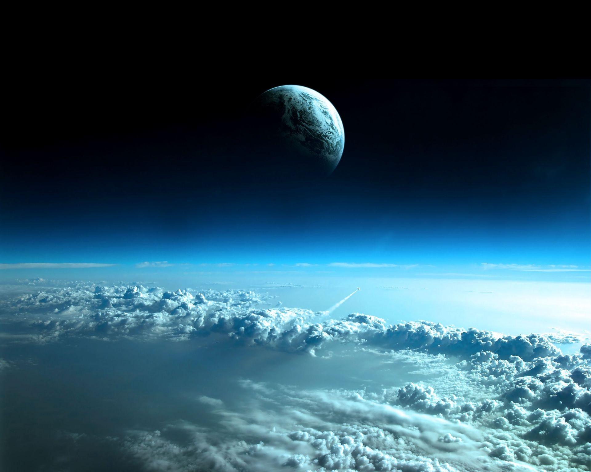 Обои Ракета, Облака. Космос foto 8