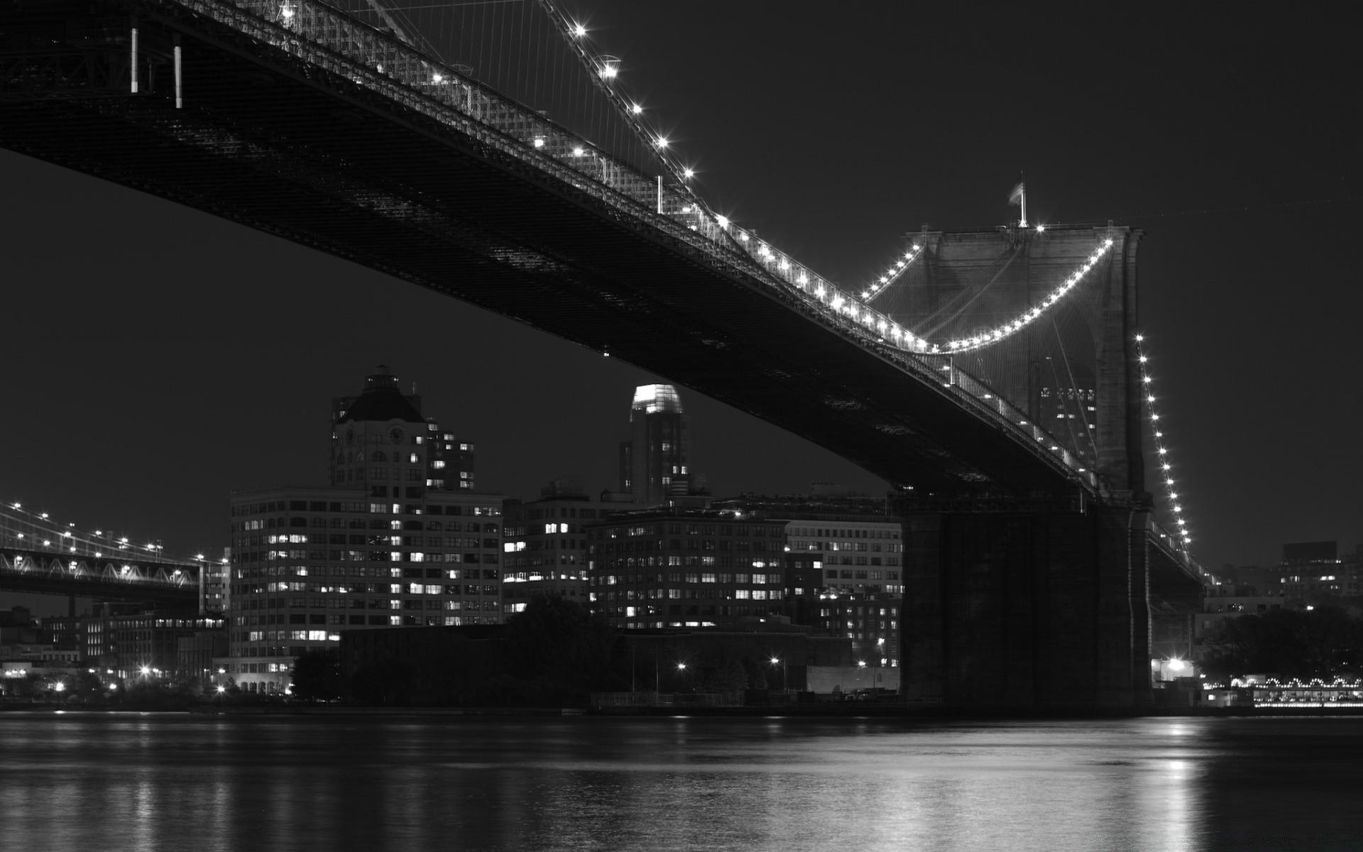 черно-белые картинки фото мост