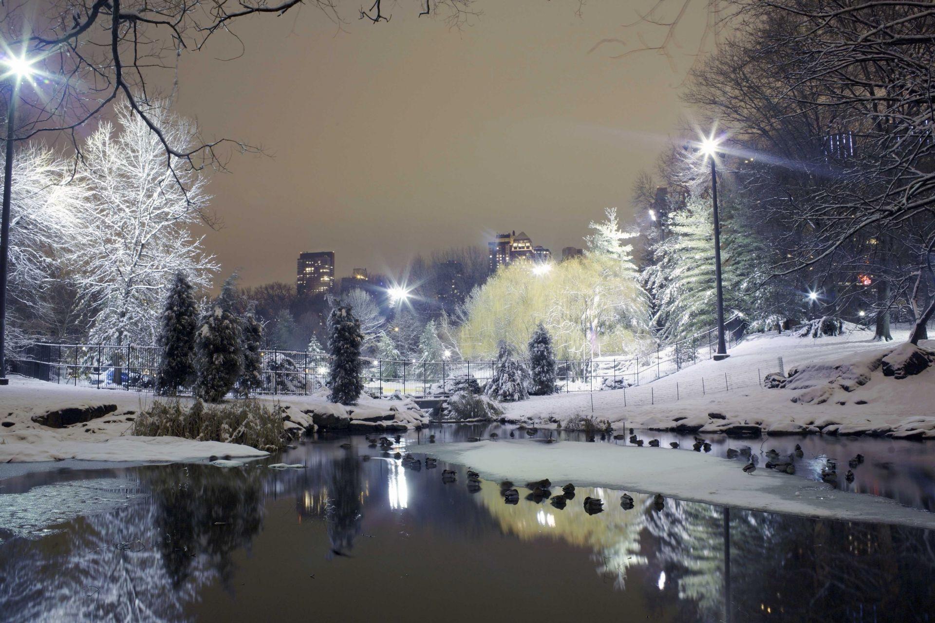 картинка зима город на рабочий стол знакомый