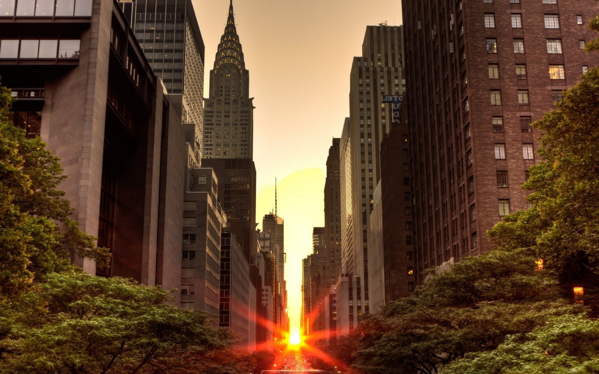 улочка в Нью-Йорке  № 1431601 без смс