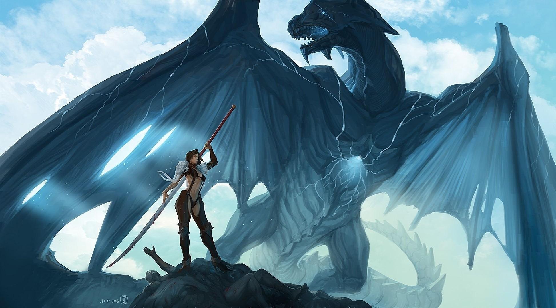 Скачать драконы обои на рабочий стол