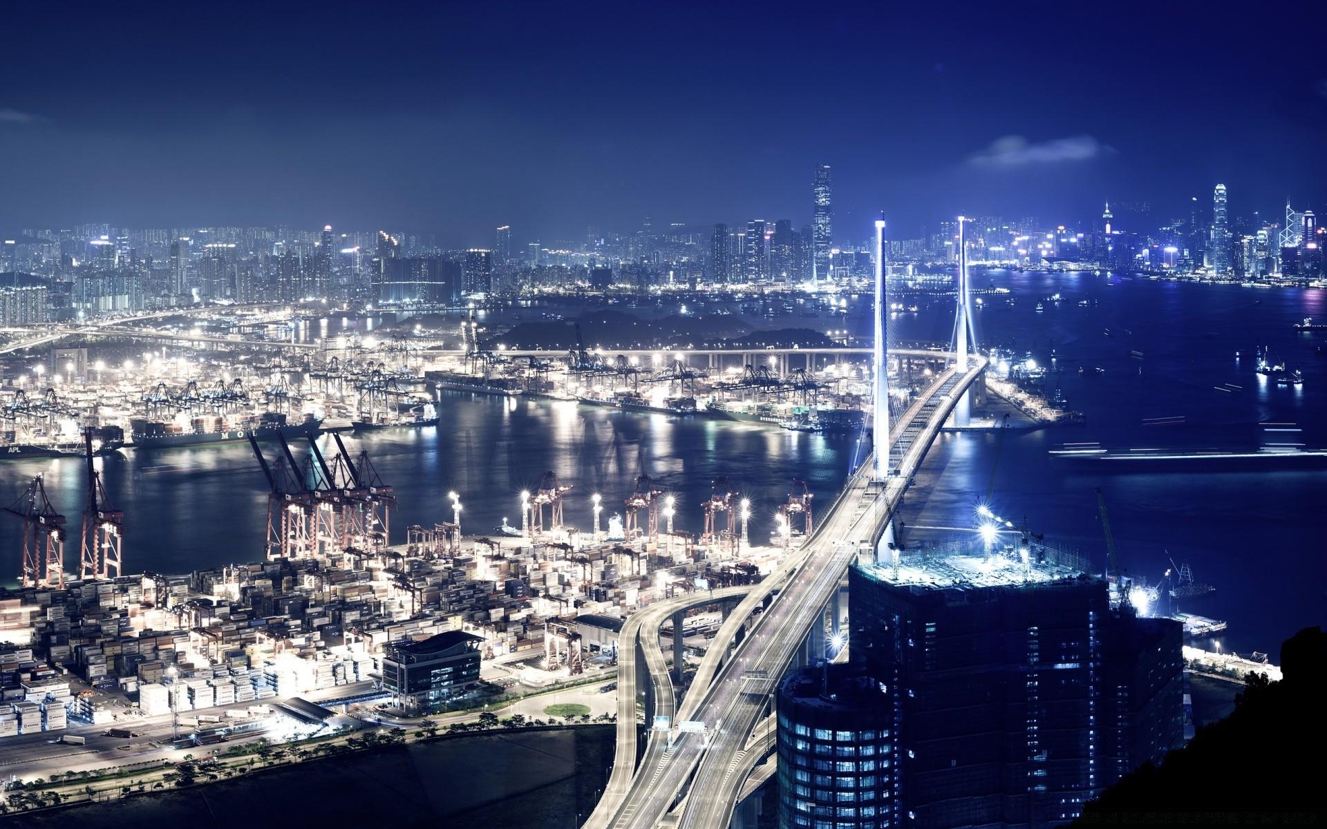 Картинки для рабочего стола с видом города