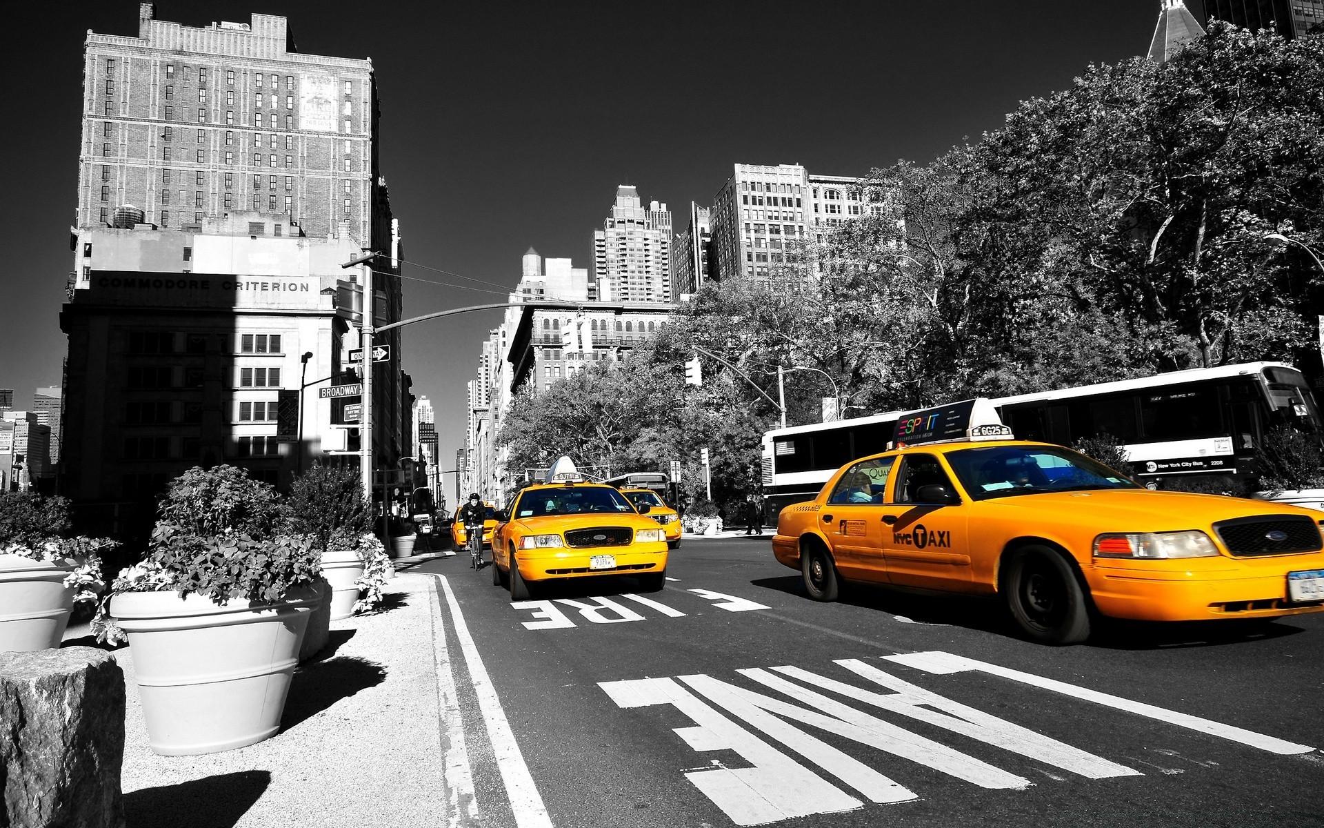 Обои такси для рабочего стола