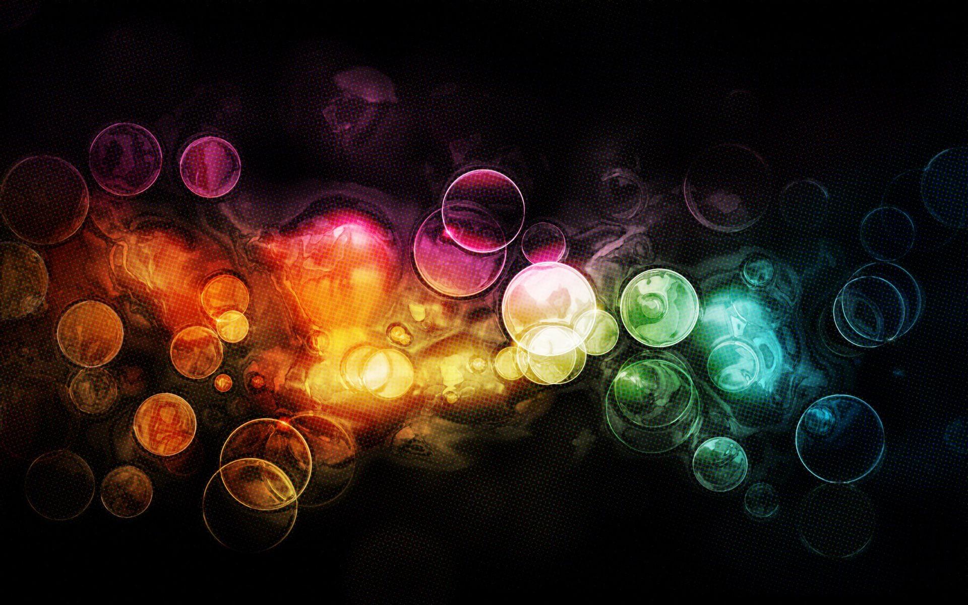Обои краски, фрактал, лучи. Абстракции foto 14