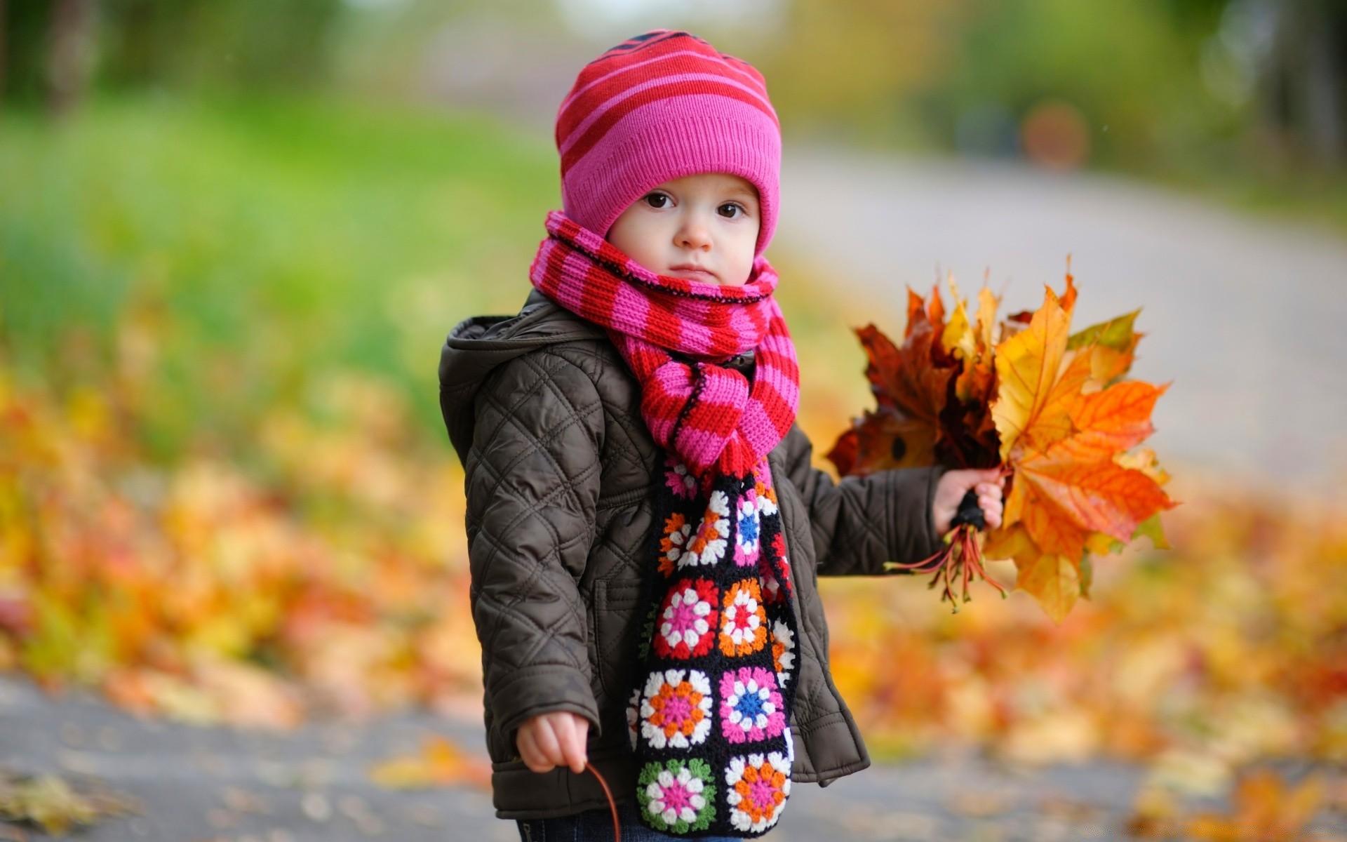 Осень и дети картинки на рабочий стол, днем