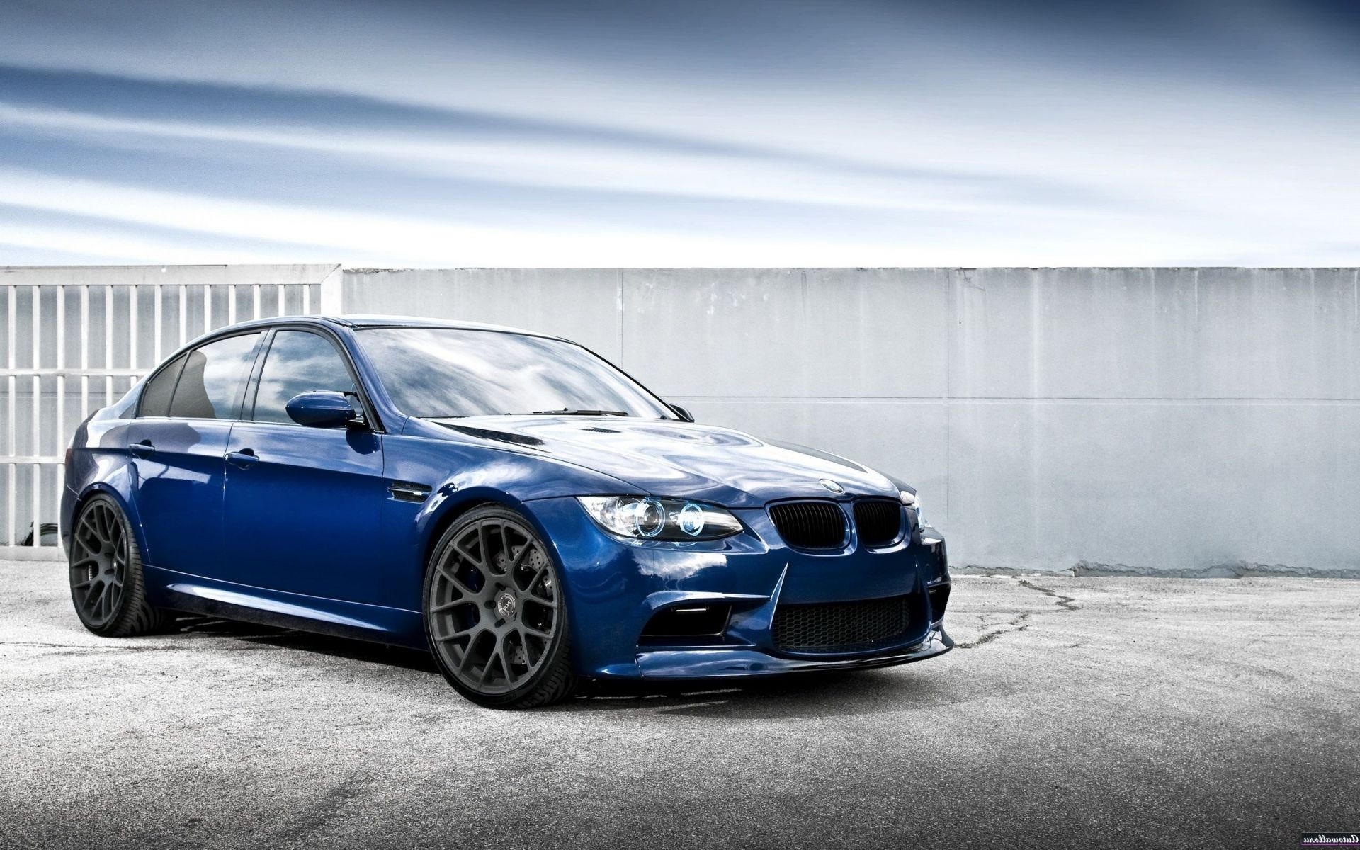 синий автомобиль BMW blue car  № 215634 без смс