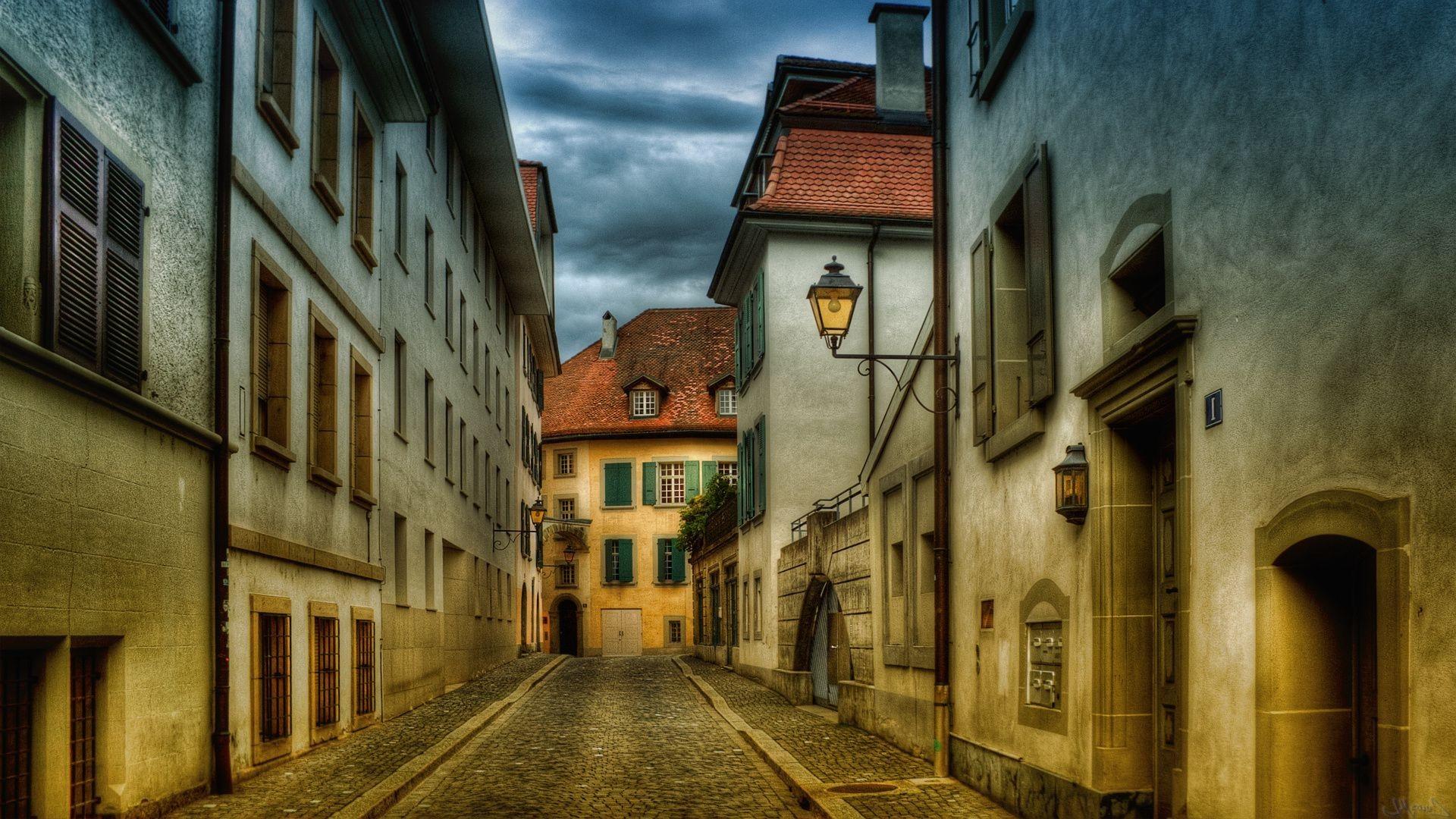 чем картинка старинного города в коричневых тонах на обои набиты интимных