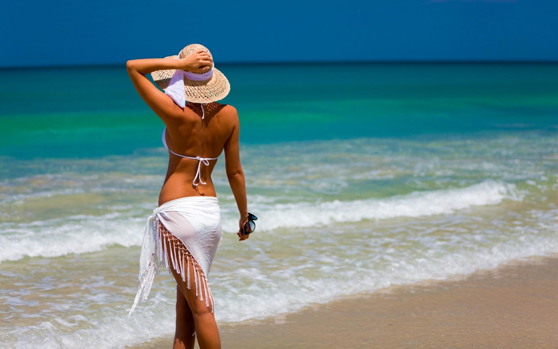 Картинки девушки на море красивые, про отпуск поздравления