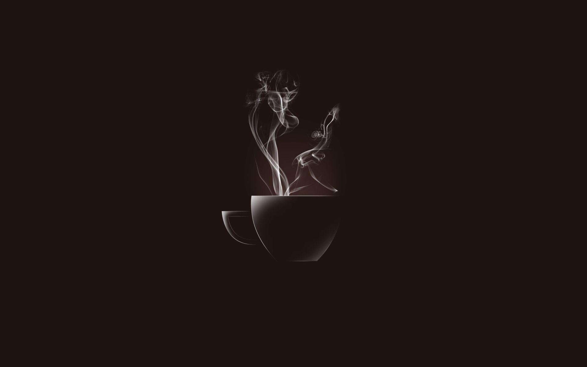 Чашка кофе обои для рабочего стола