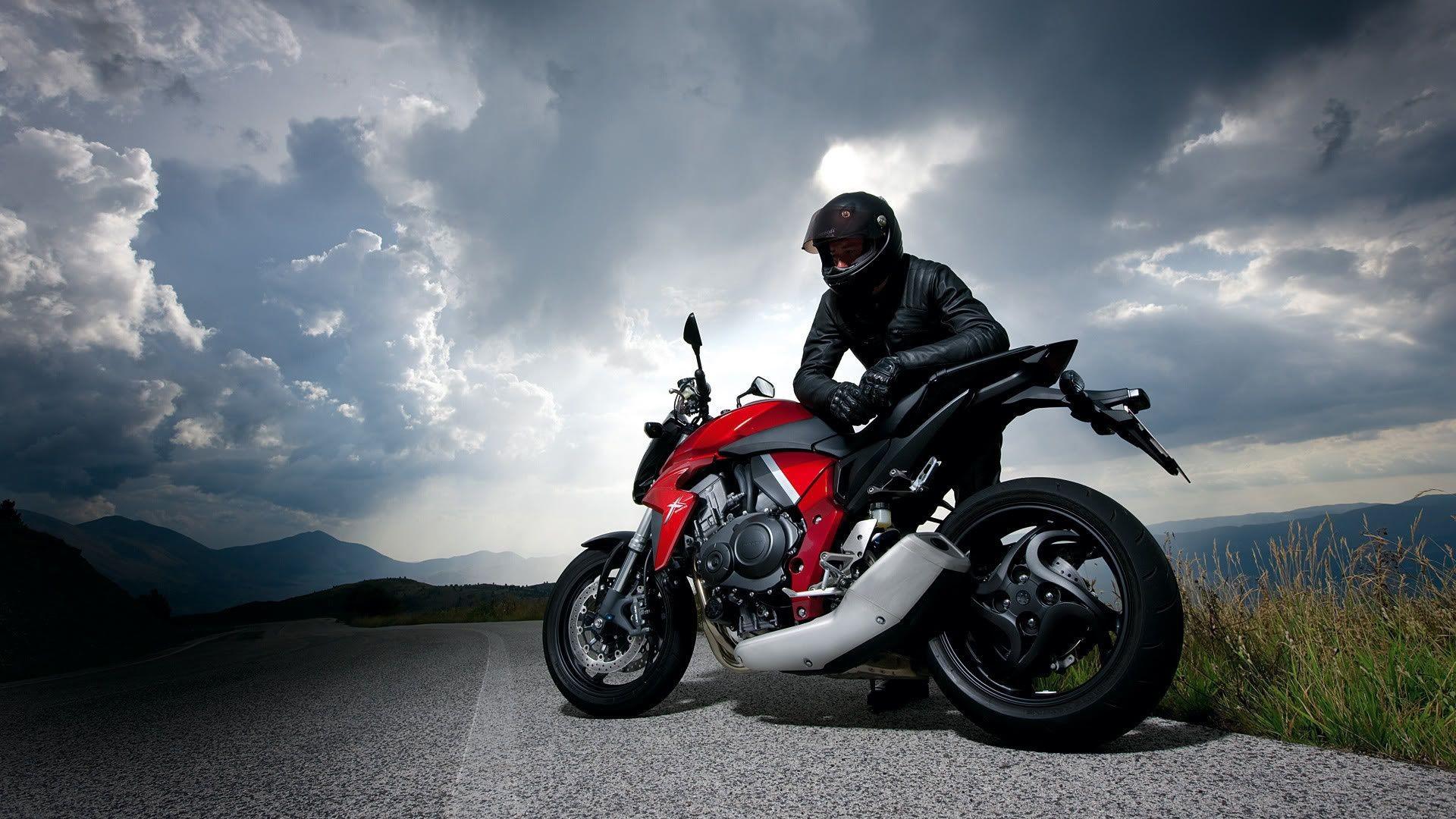 мотоцикл асфальт в хорошем качестве