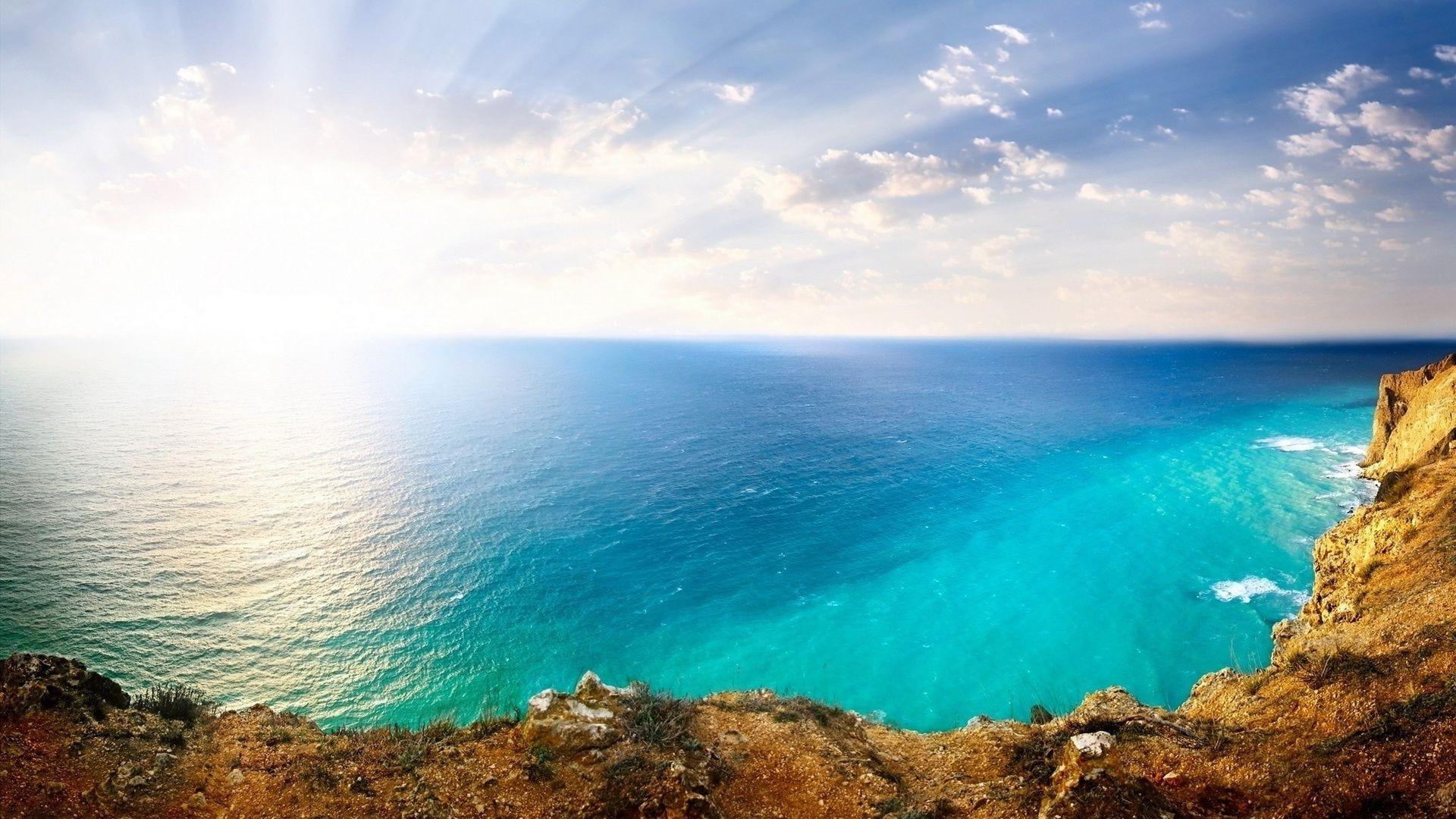 Картинки вид на море красивый, мамы юбилеем сына
