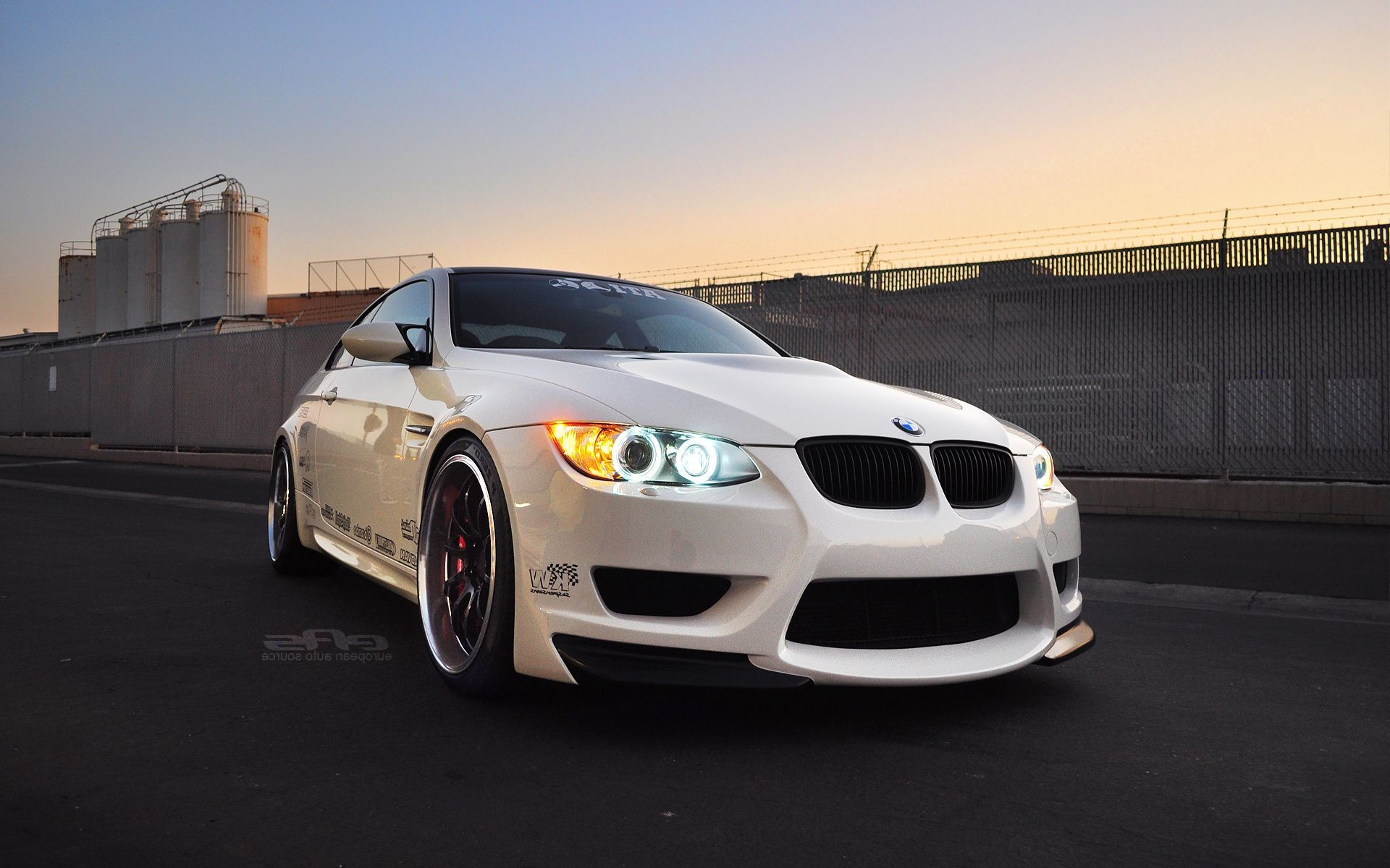 eas white m3 e92 Bmw