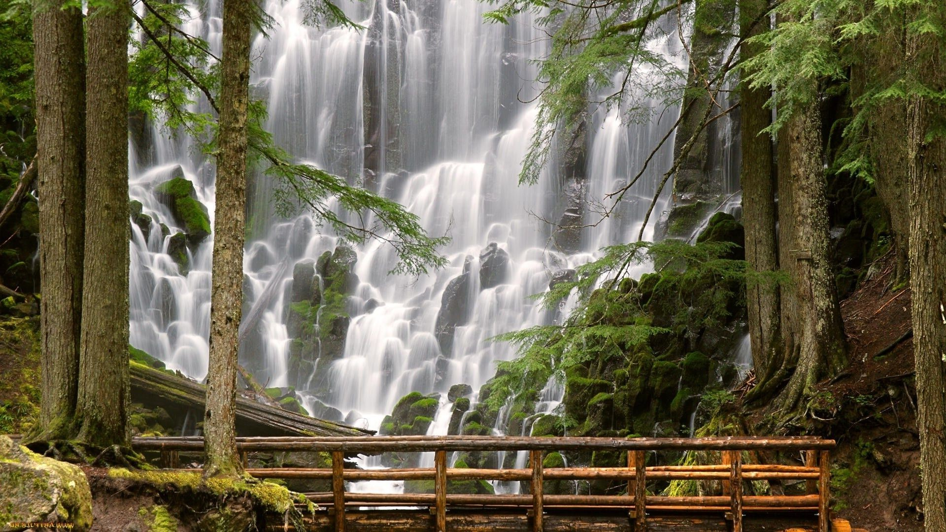 Добро, водопады картинки красивые на телефон