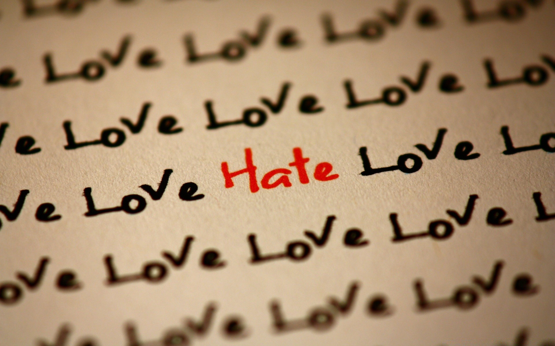 Любовь и ненависть картинки