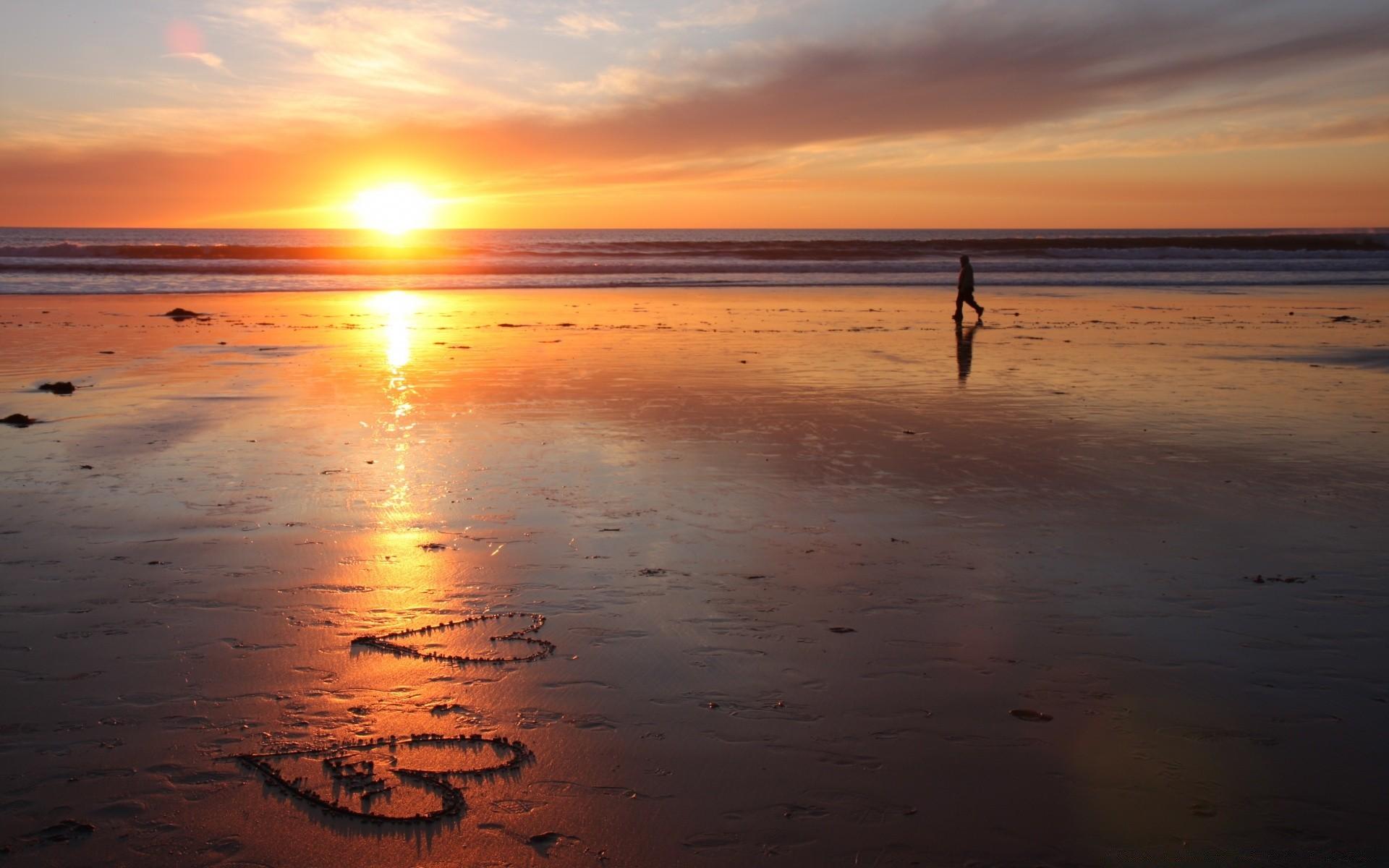 будет бед, картинки море закат пляж двое даст больше