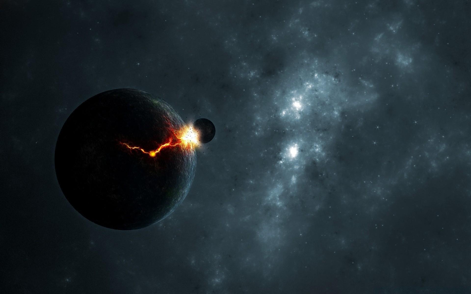 Обои спутник, планеты, катастрофа. Космос foto 16