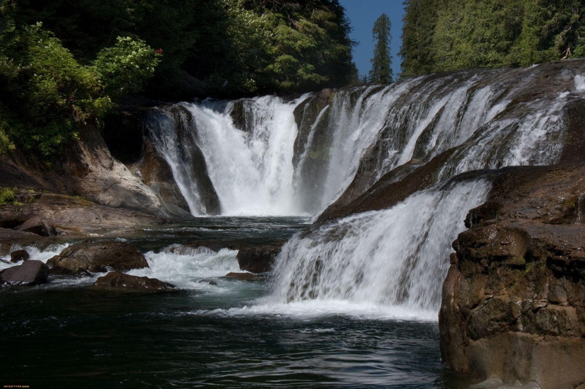 Природа водопад скачать обои на