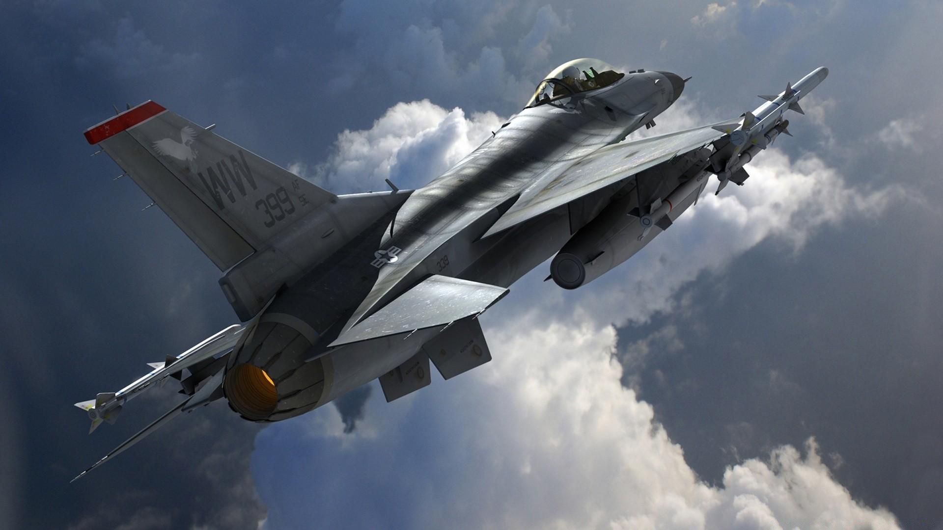 Обои fighting falcon, general dynamics, истребитель. Авиация foto 17