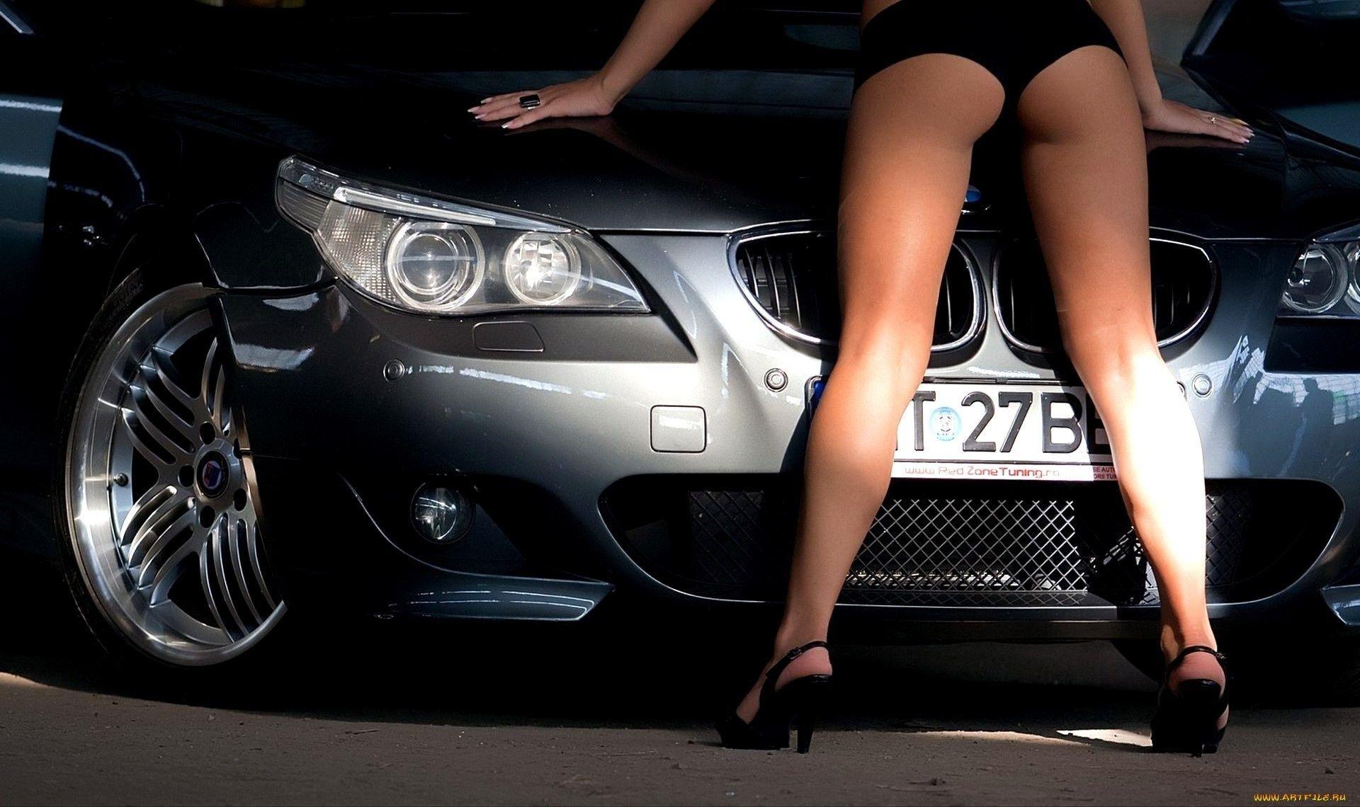 Заставки на рабочий стол девушки машины