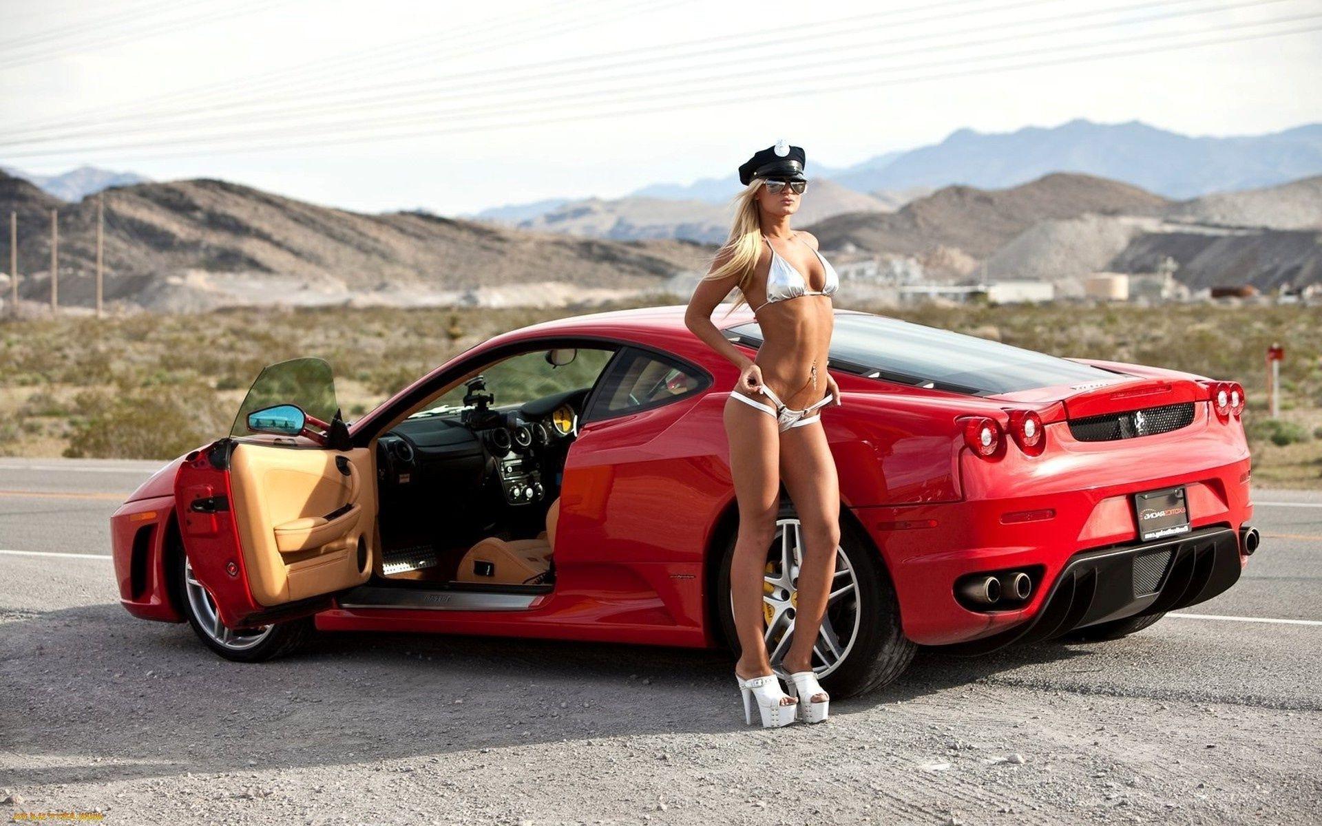 обои рабочего стола авто и голые девушки-зо2