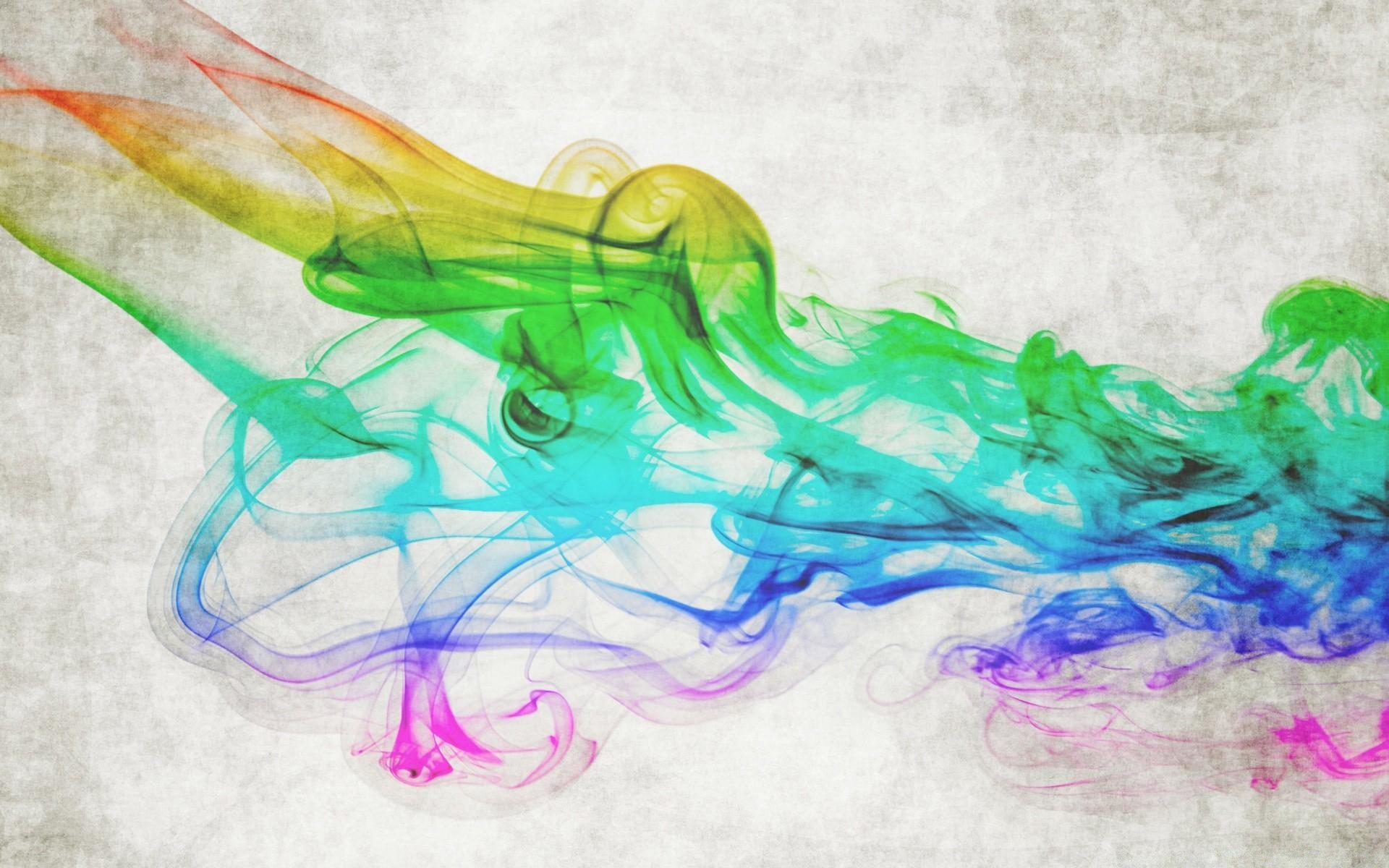 Фото цветной абстракции без фона