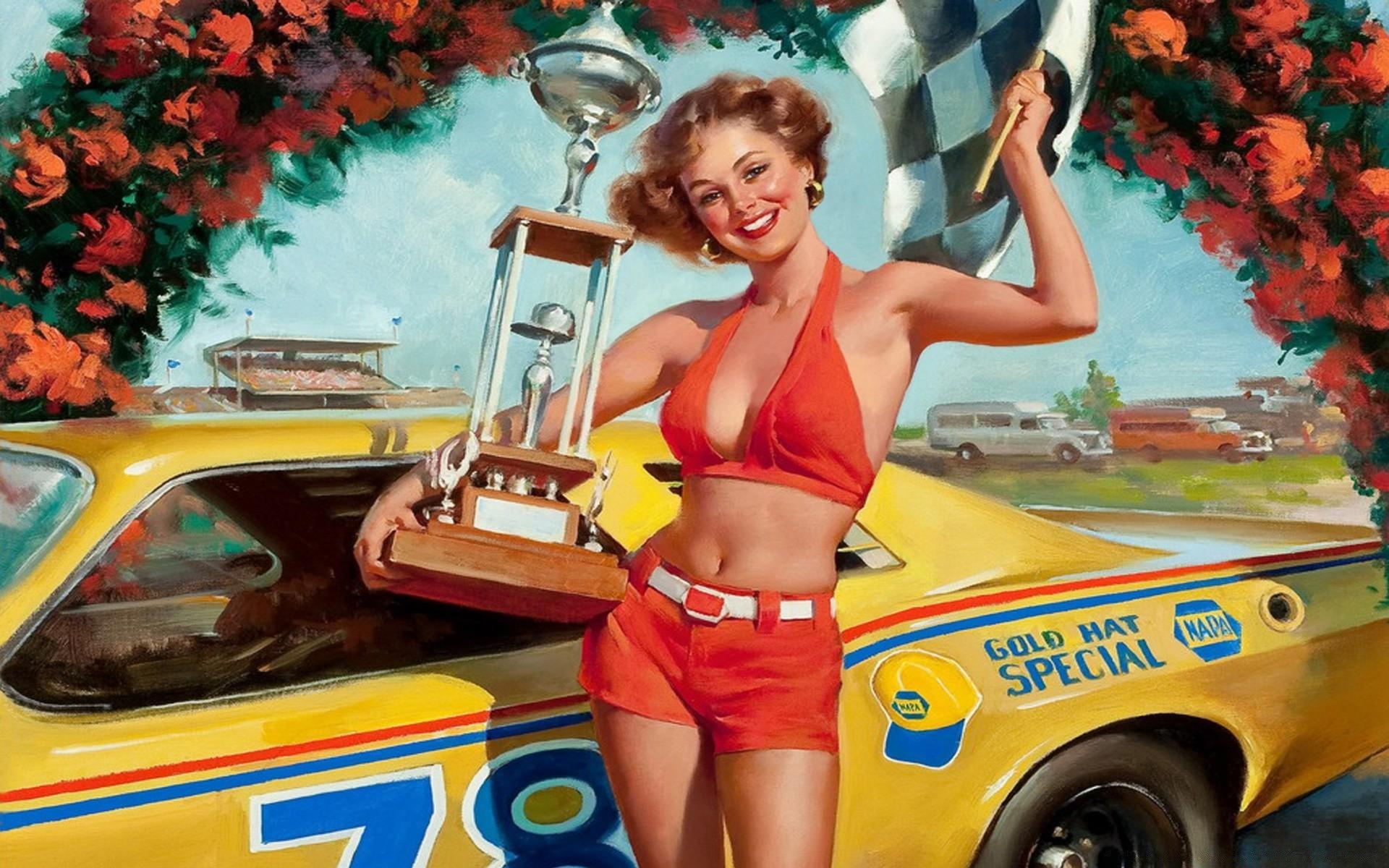 Американские открытки 40 годы